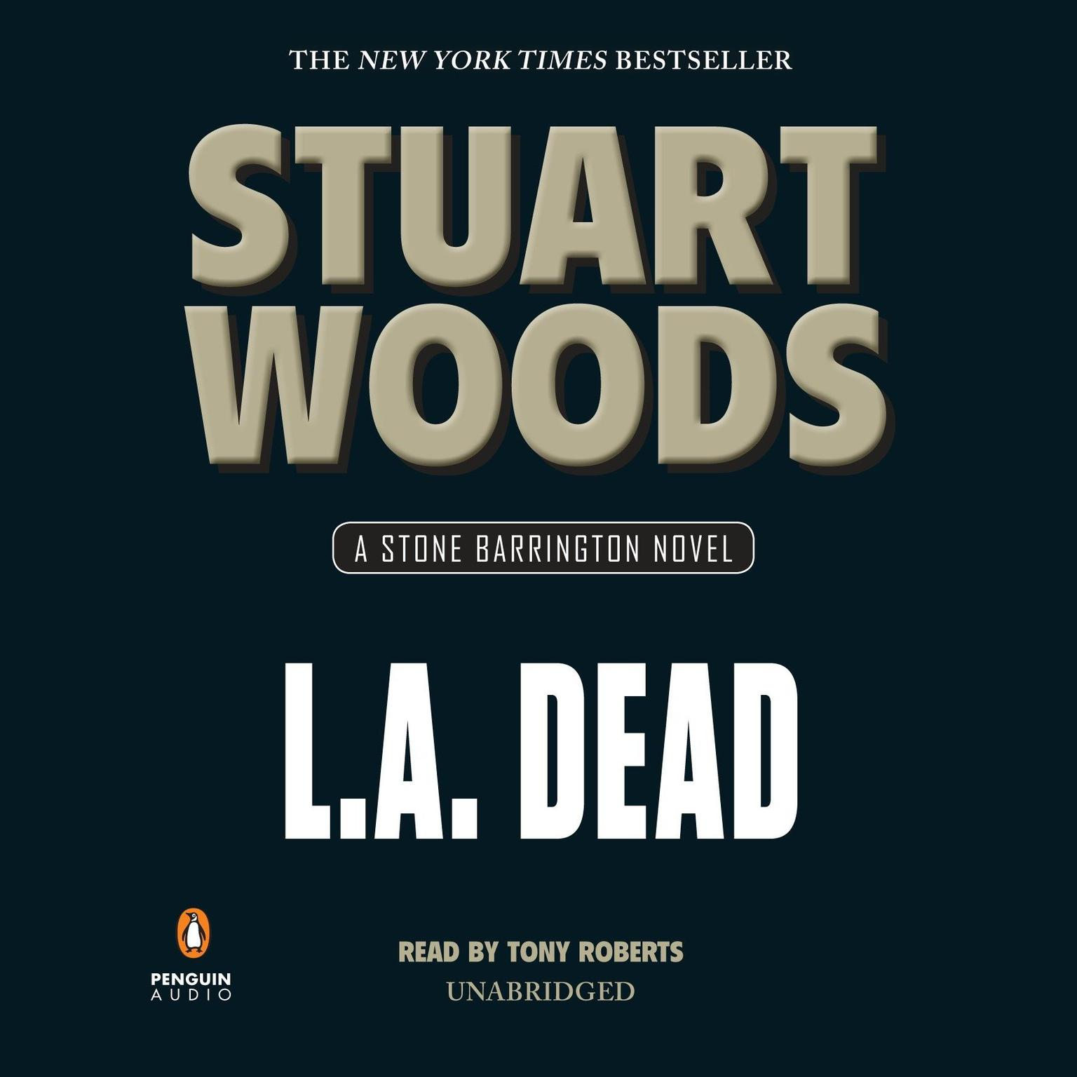 Printable L.A. Dead Audiobook Cover Art