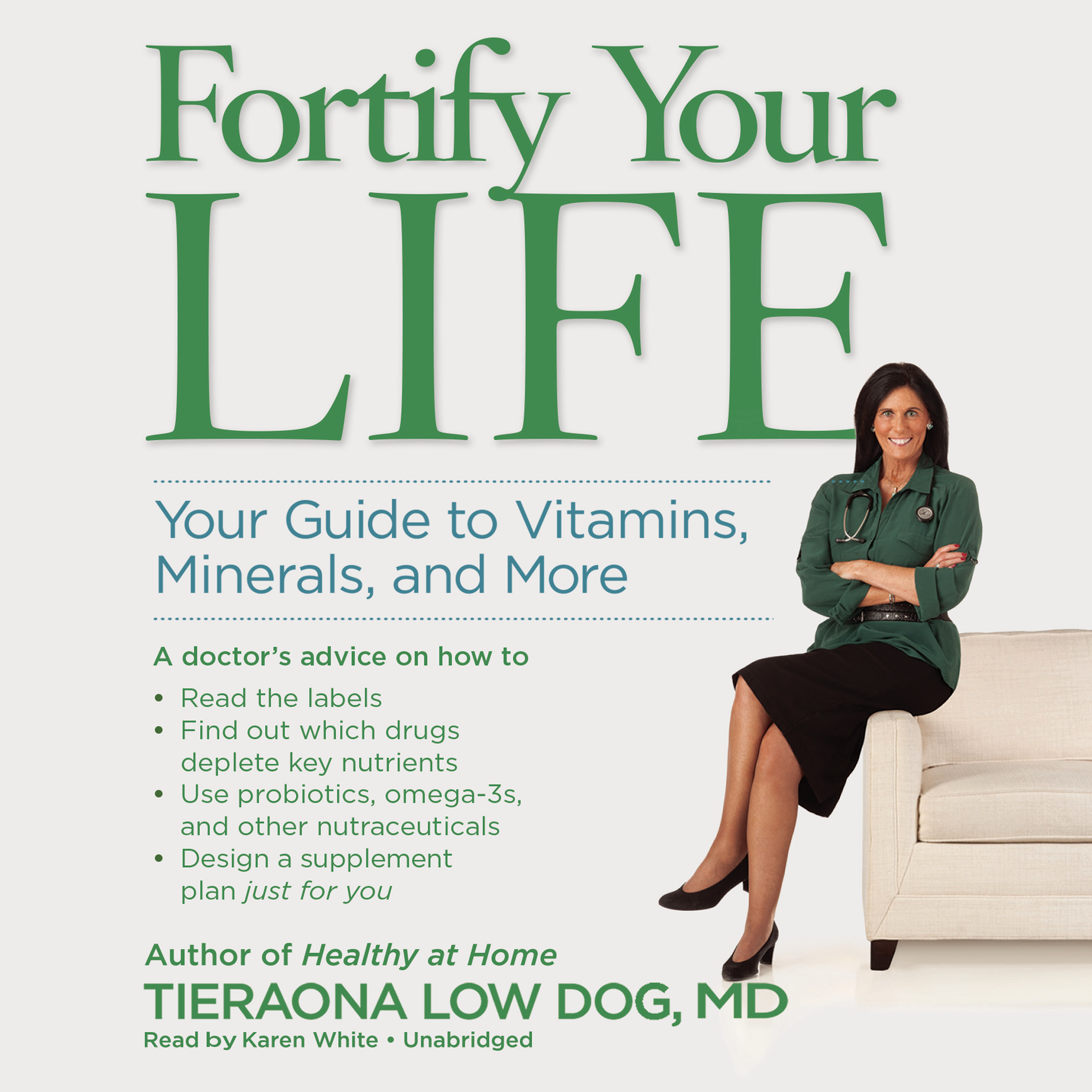 Printable Fortify Your Life: Your Guide to Vitamins, Minerals, and More Audiobook Cover Art
