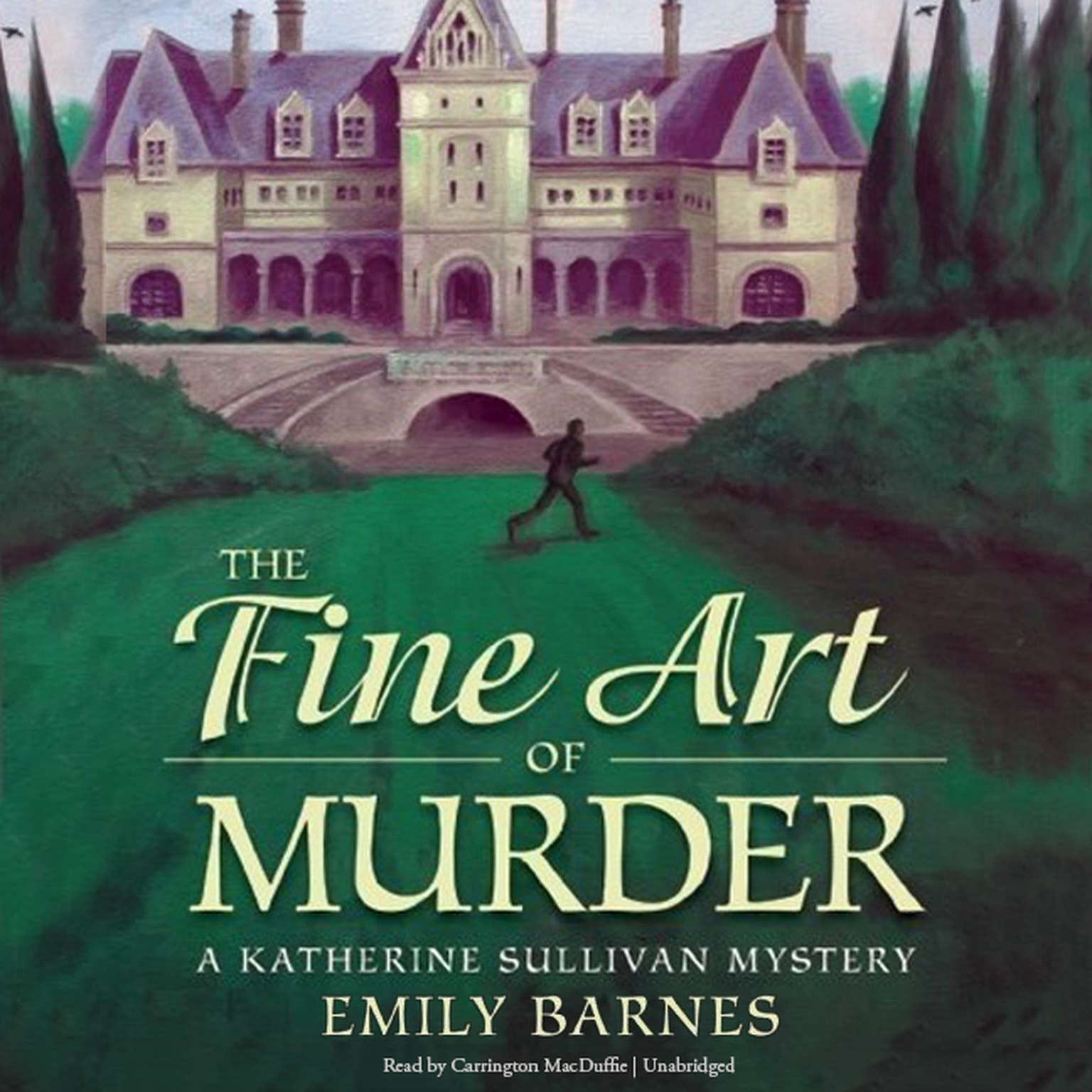 Printable The Fine Art of Murder: A Katherine Sullivan Mystery Audiobook Cover Art