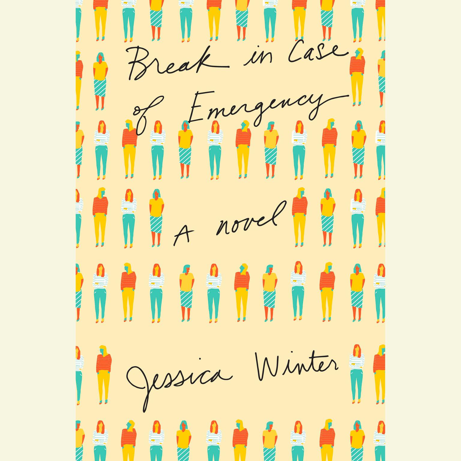 Printable Break in Case of Emergency: A novel Audiobook Cover Art