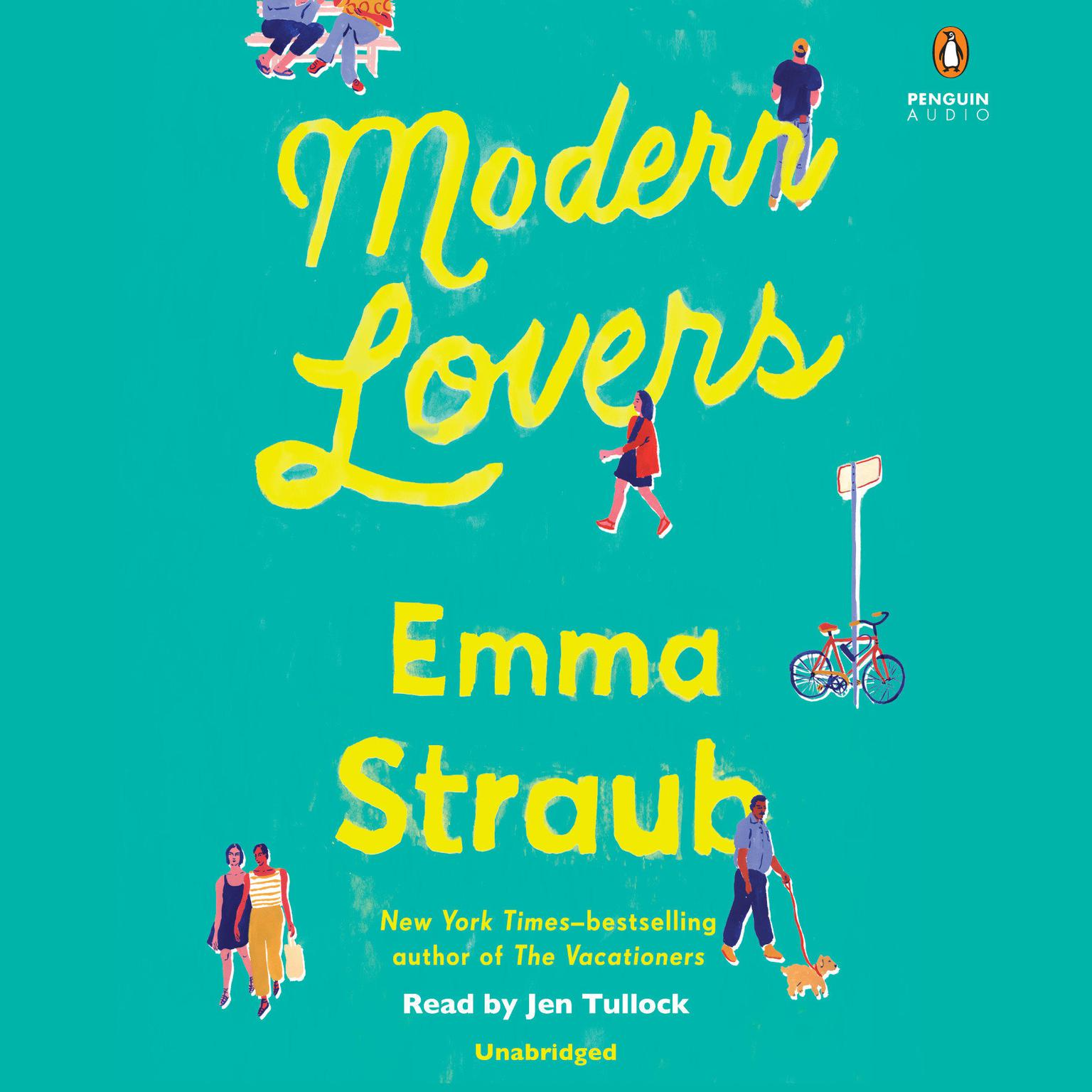 Printable Modern Lovers Audiobook Cover Art