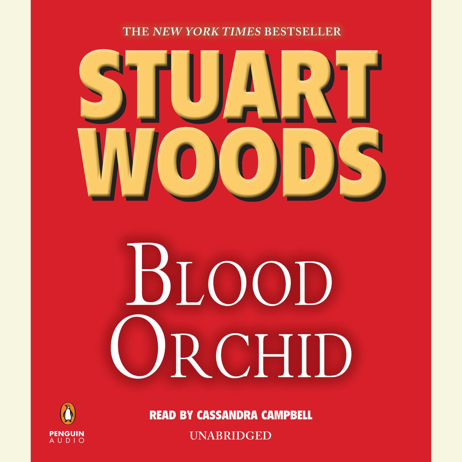 Printable Blood Orchid Audiobook Cover Art