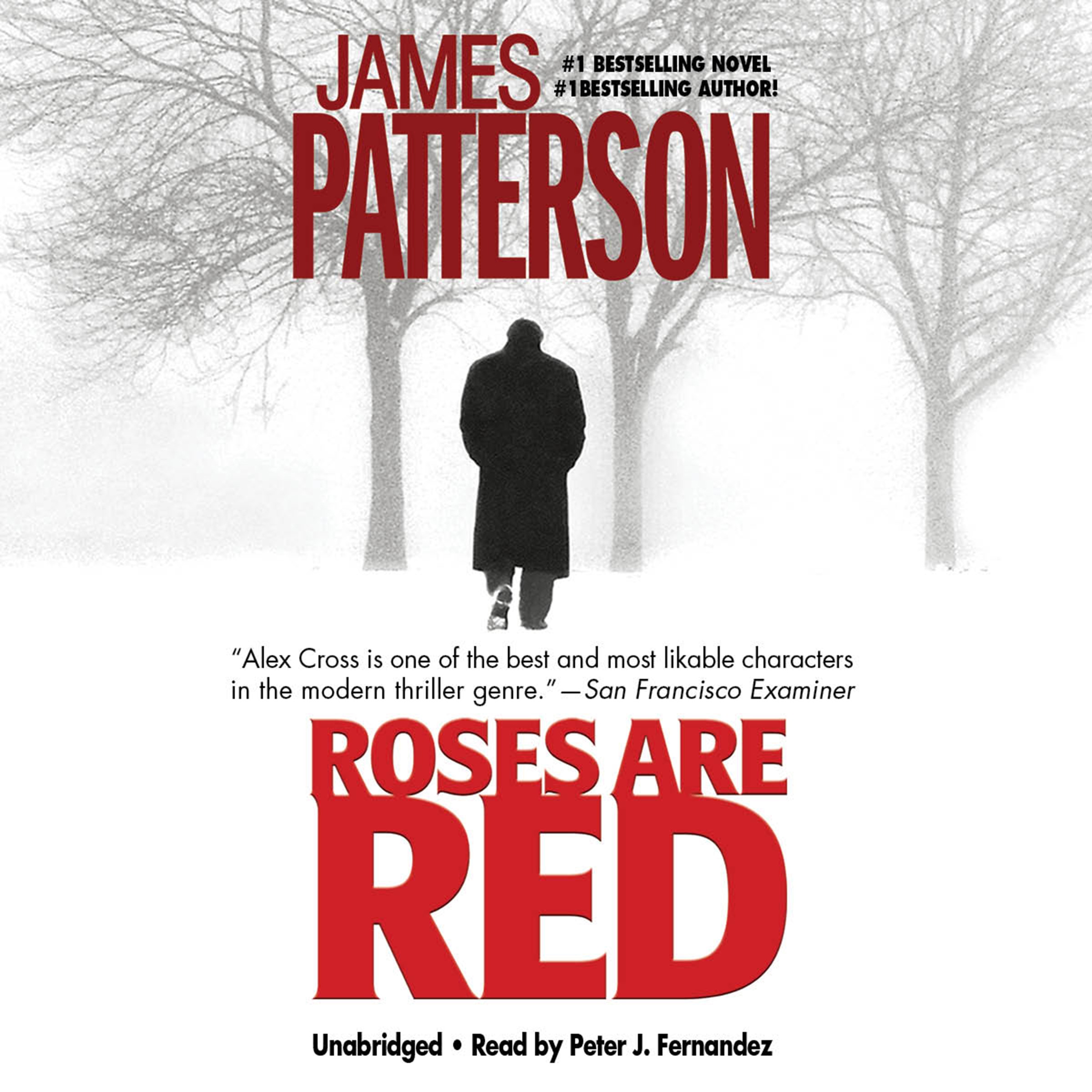 Printable Roses Are Red Audiobook Cover Art