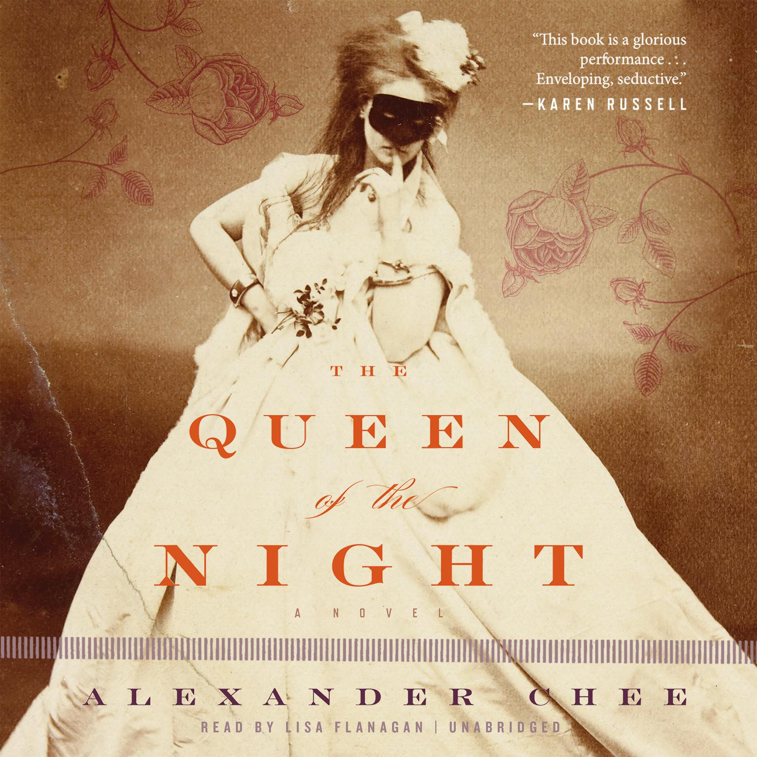Printable The Queen of the Night Audiobook Cover Art