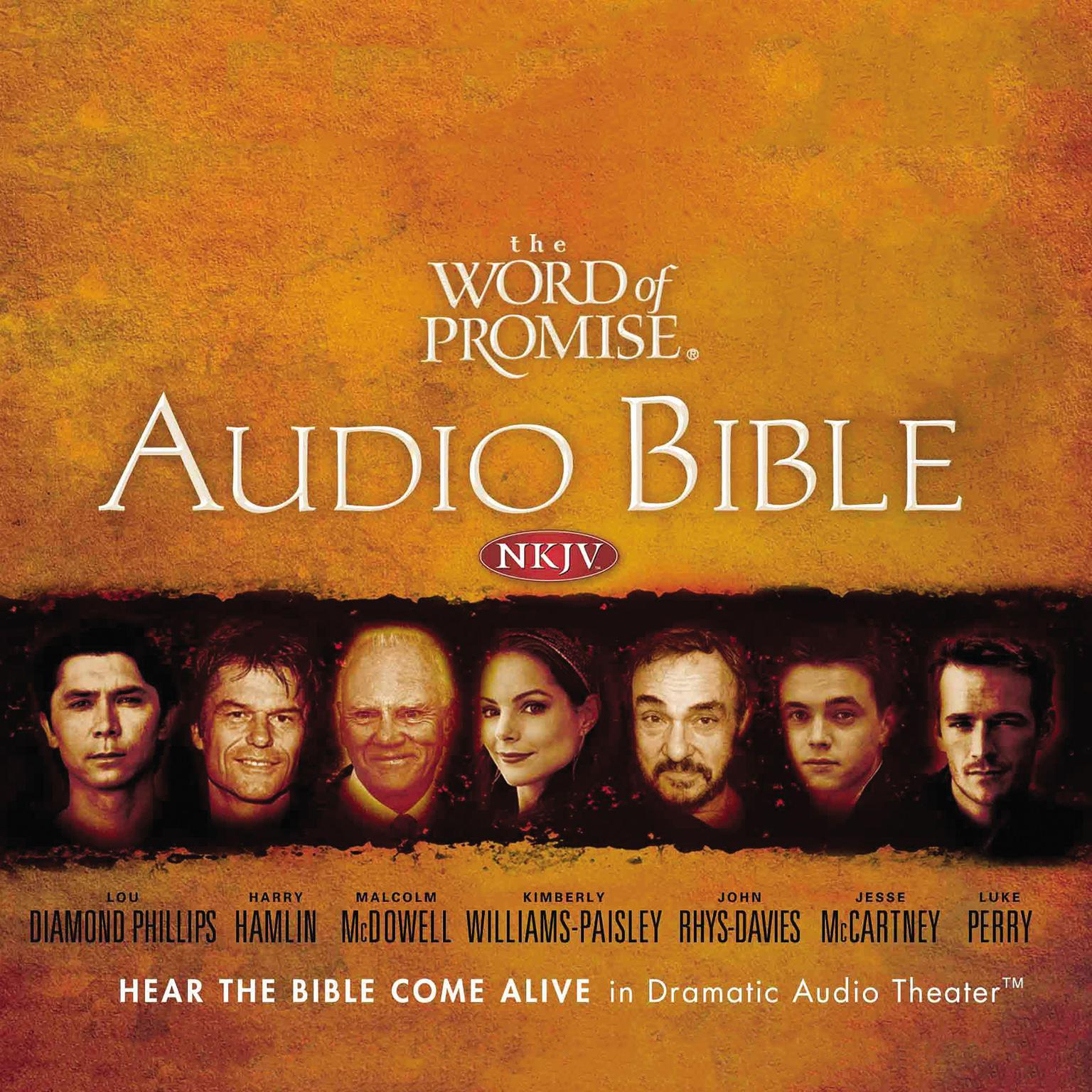 Printable NKJV Word of Promise: Complete Audio Bible Audiobook Cover Art