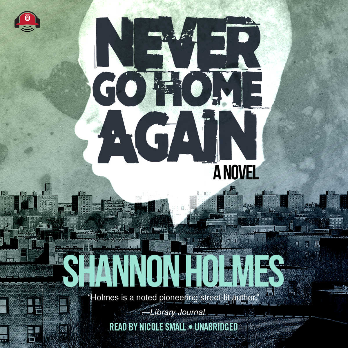 Printable Never Go Home Again Audiobook Cover Art