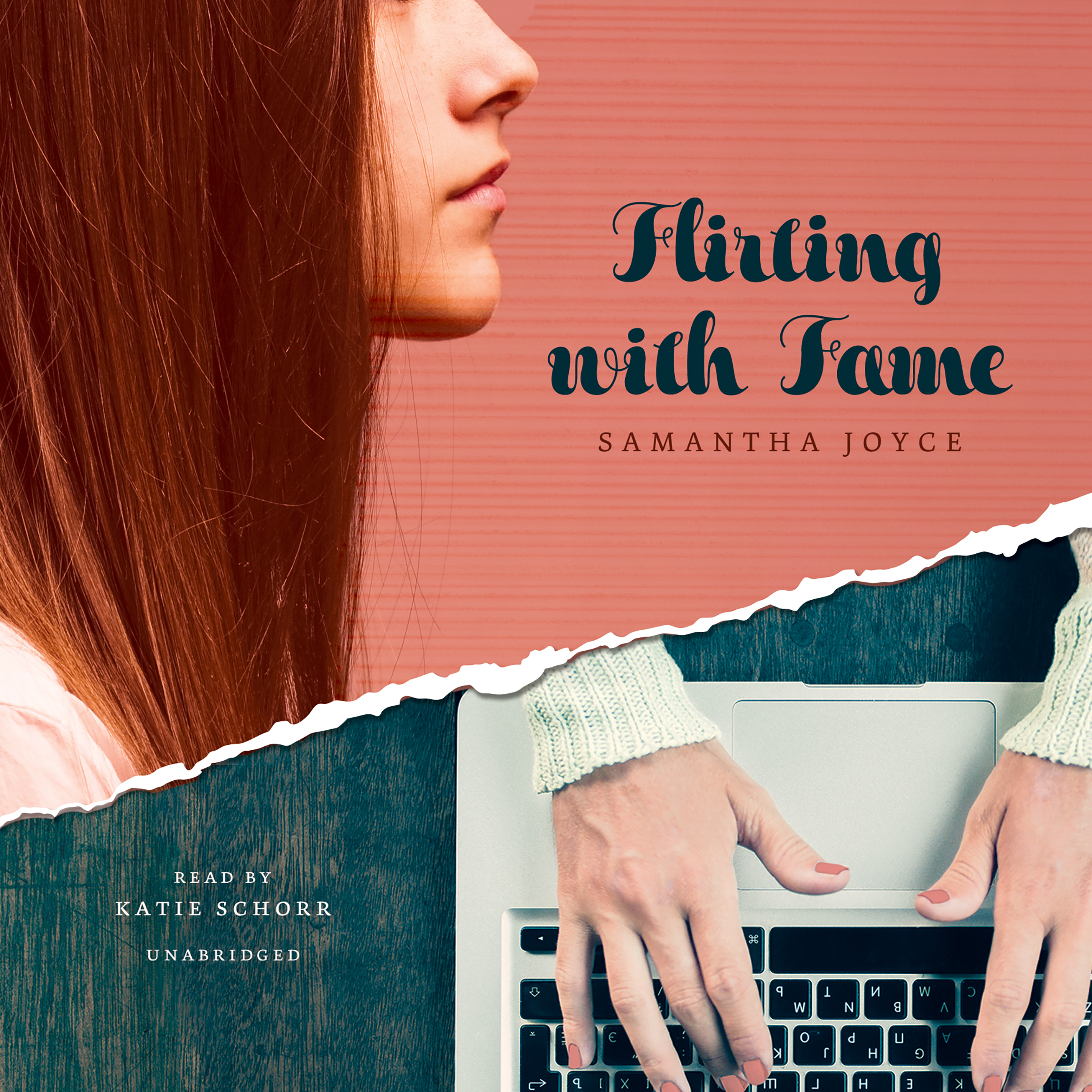 Printable Flirting with Fame Audiobook Cover Art