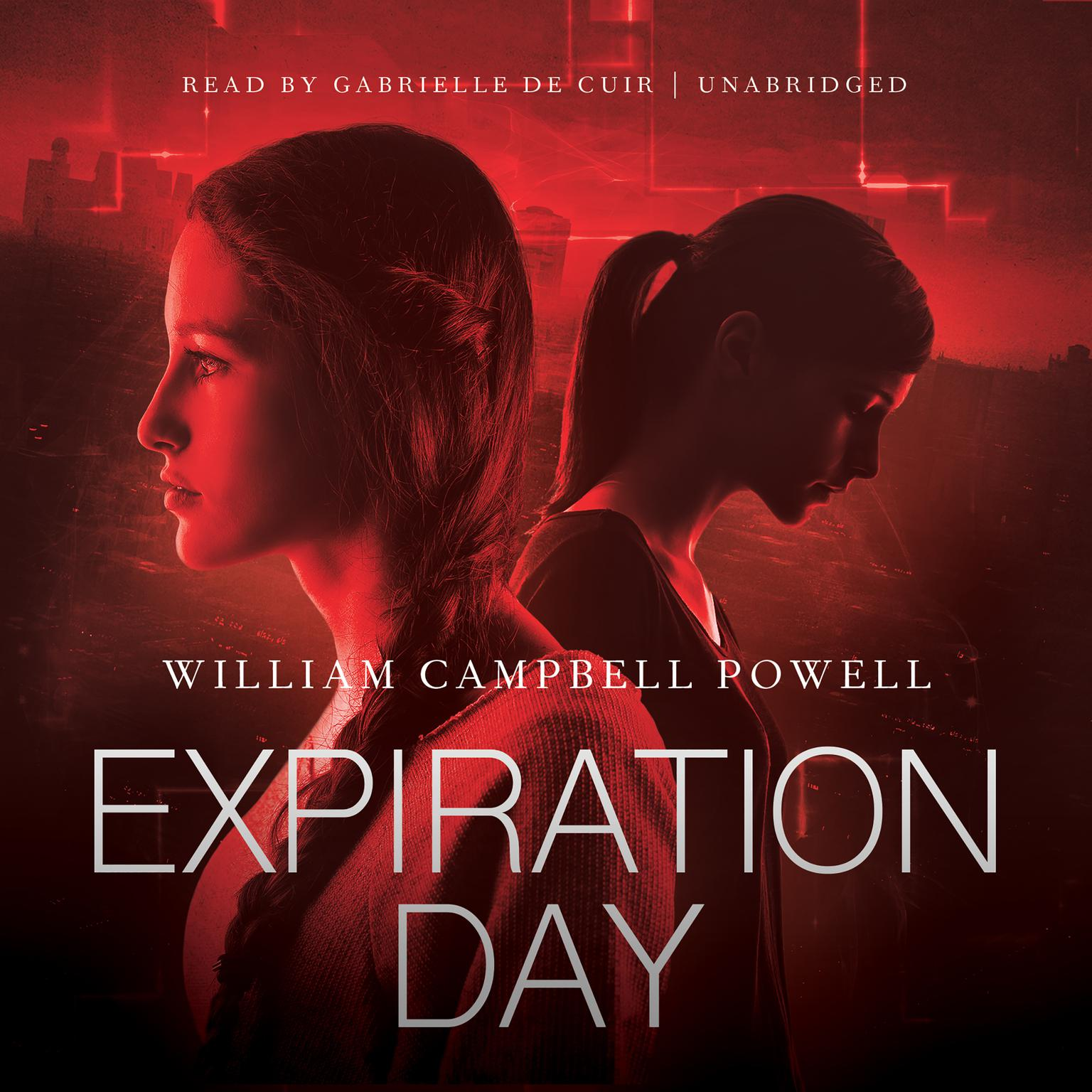 Printable Expiration Day Audiobook Cover Art
