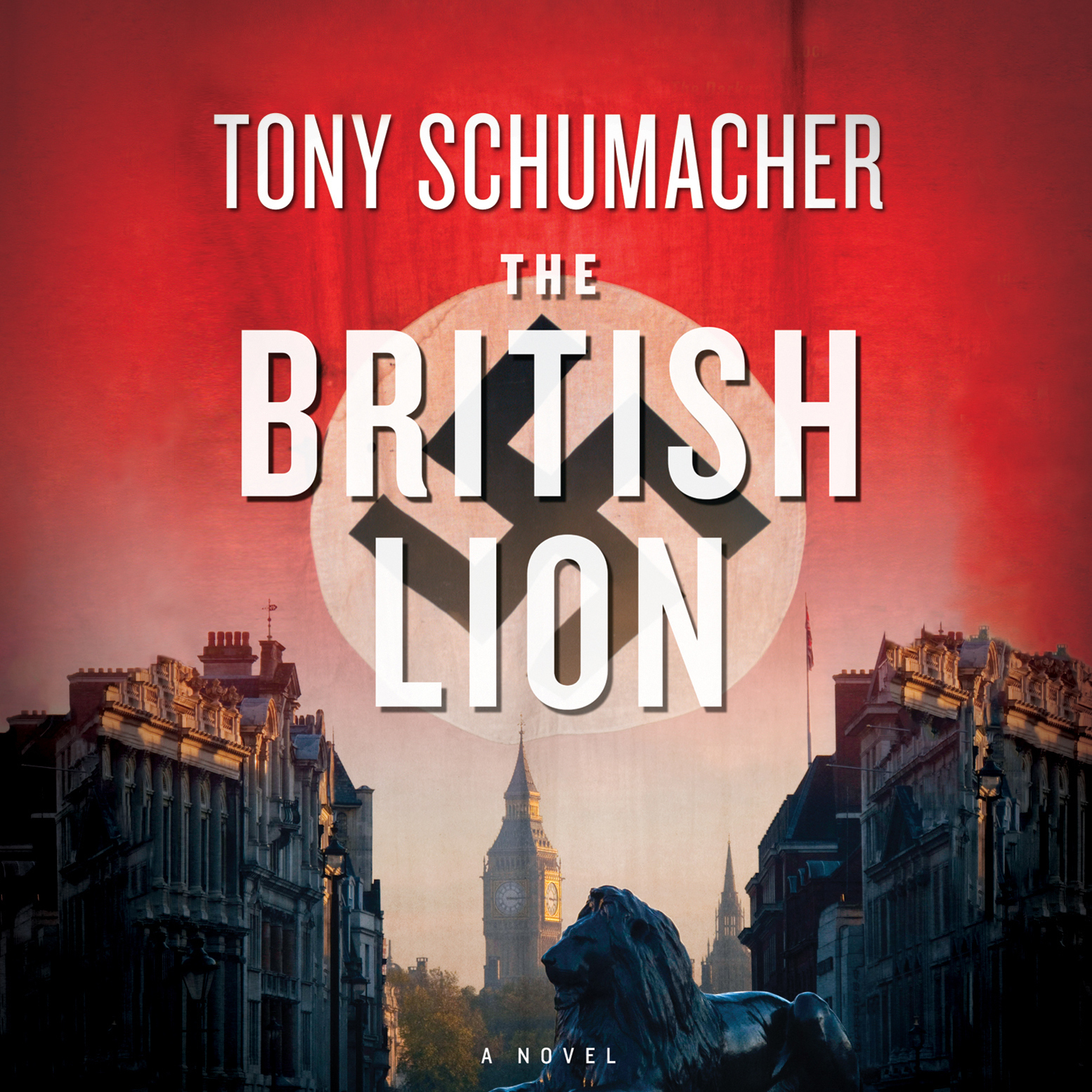 Printable The British Lion Audiobook Cover Art