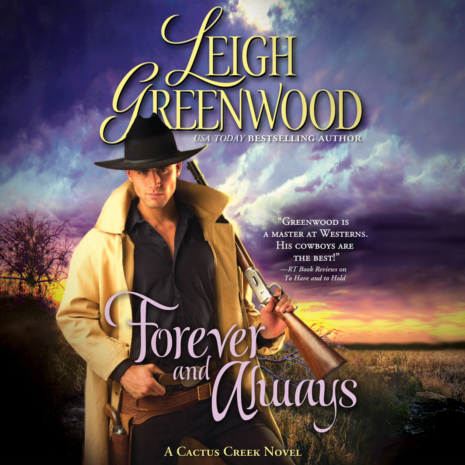 Printable Forever and Always: A Cactus Creek Novel Audiobook Cover Art
