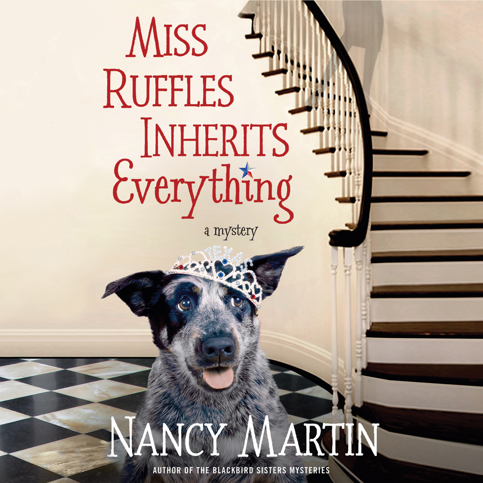 Printable Miss Ruffles Inherits Everything Audiobook Cover Art