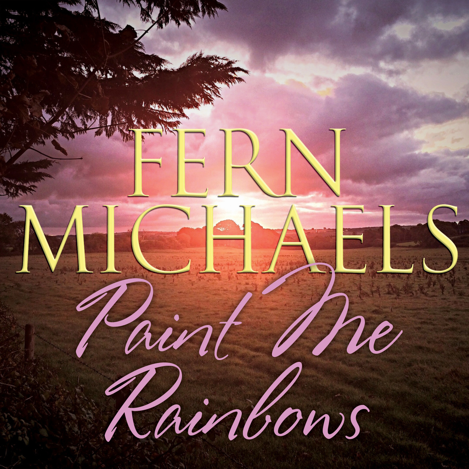Printable Paint Me Rainbows Audiobook Cover Art