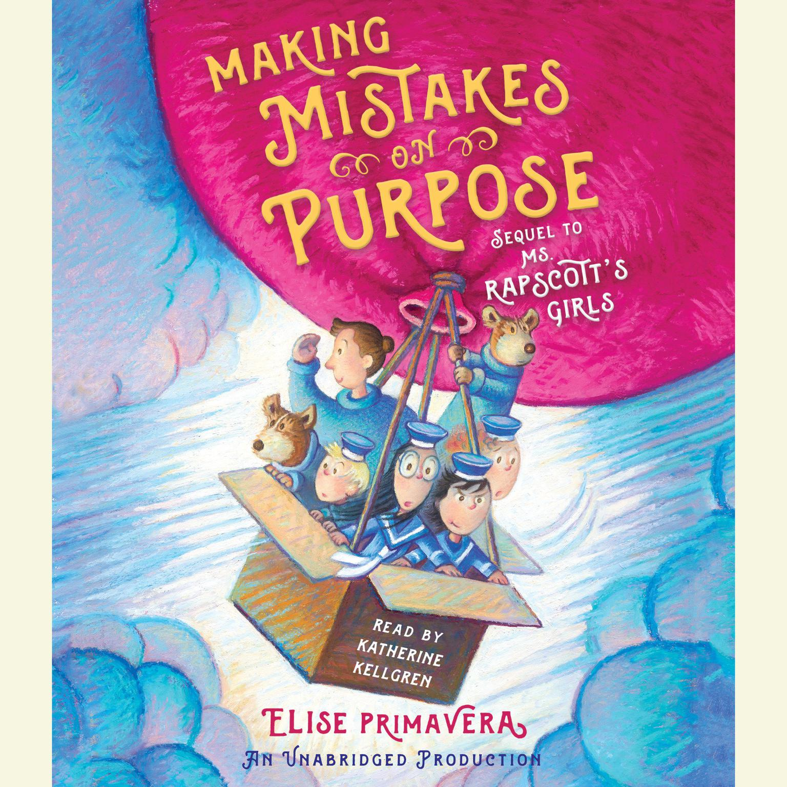 Printable Making Mistakes on Purpose Audiobook Cover Art