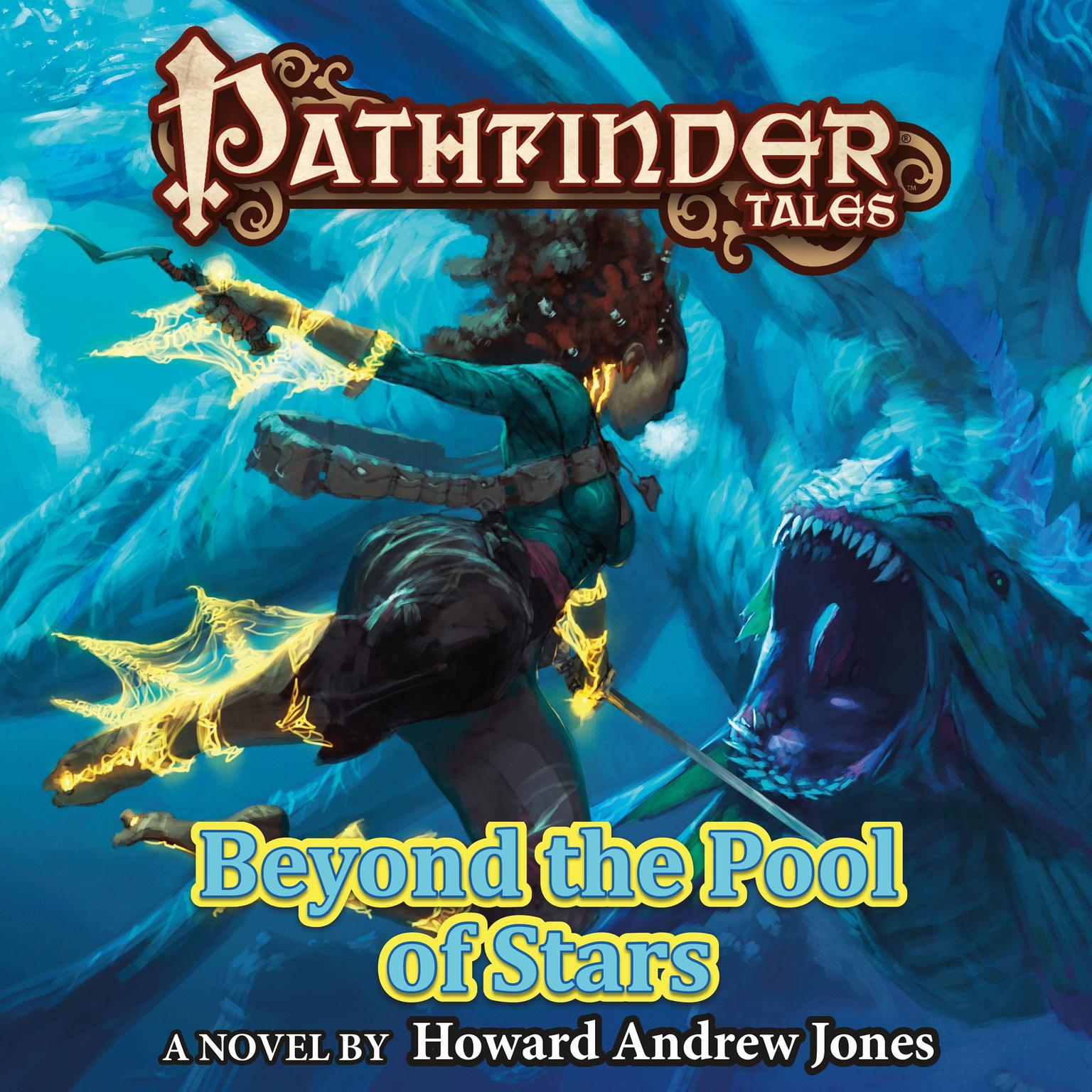 Printable Pathfinder Tales: Beyond the Pool of Stars Audiobook Cover Art