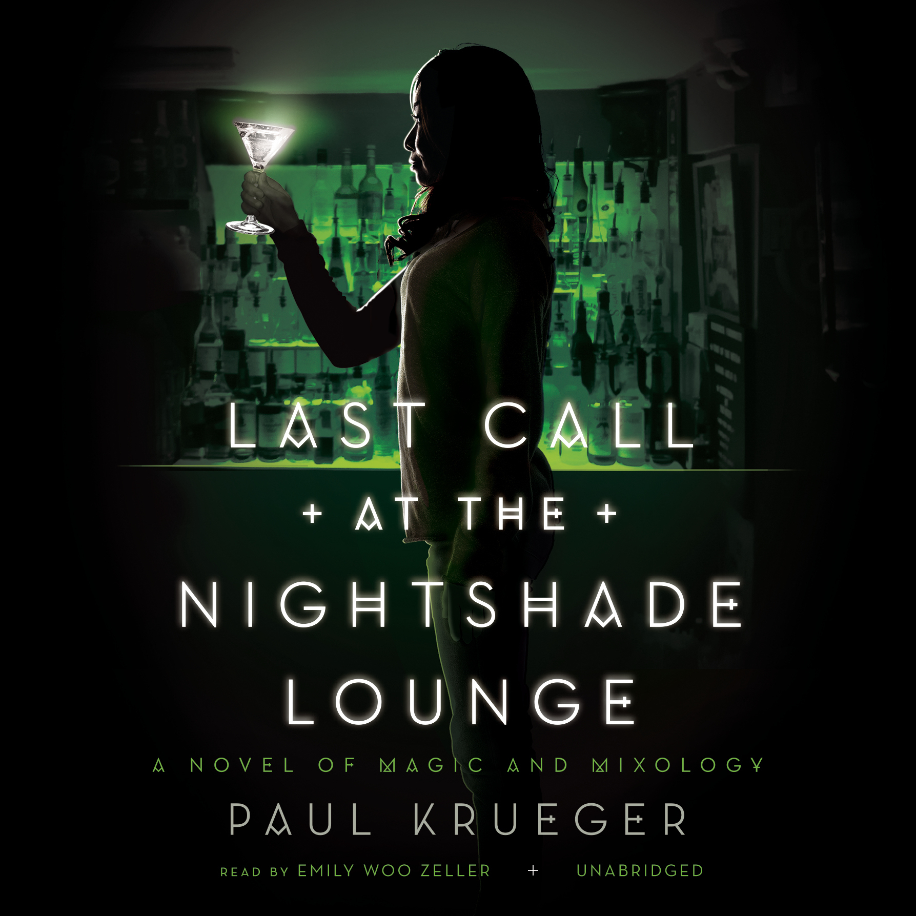 Printable Last Call at the Nightshade Lounge: A Novel of Magic and Mixology Audiobook Cover Art