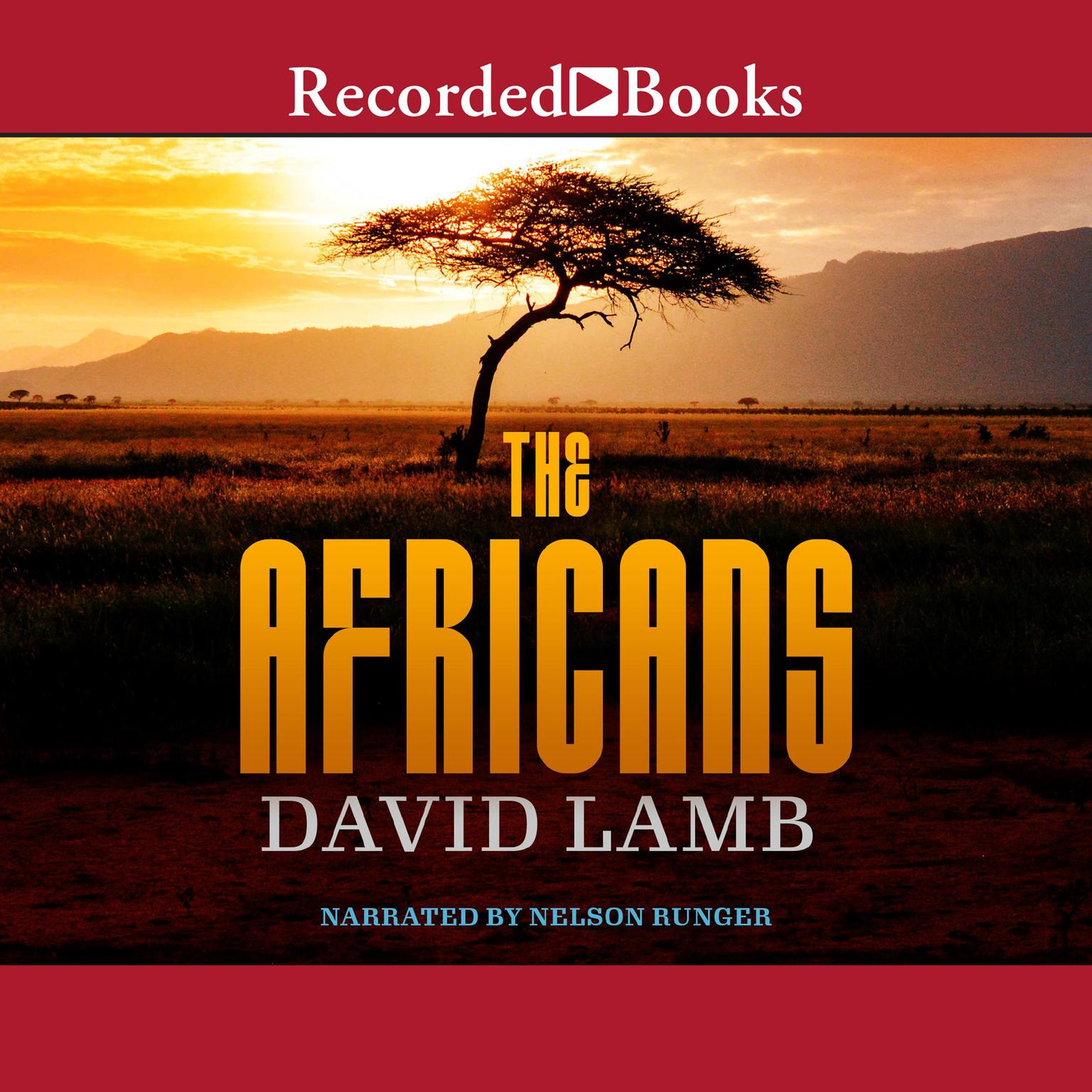 Printable The Africans Audiobook Cover Art