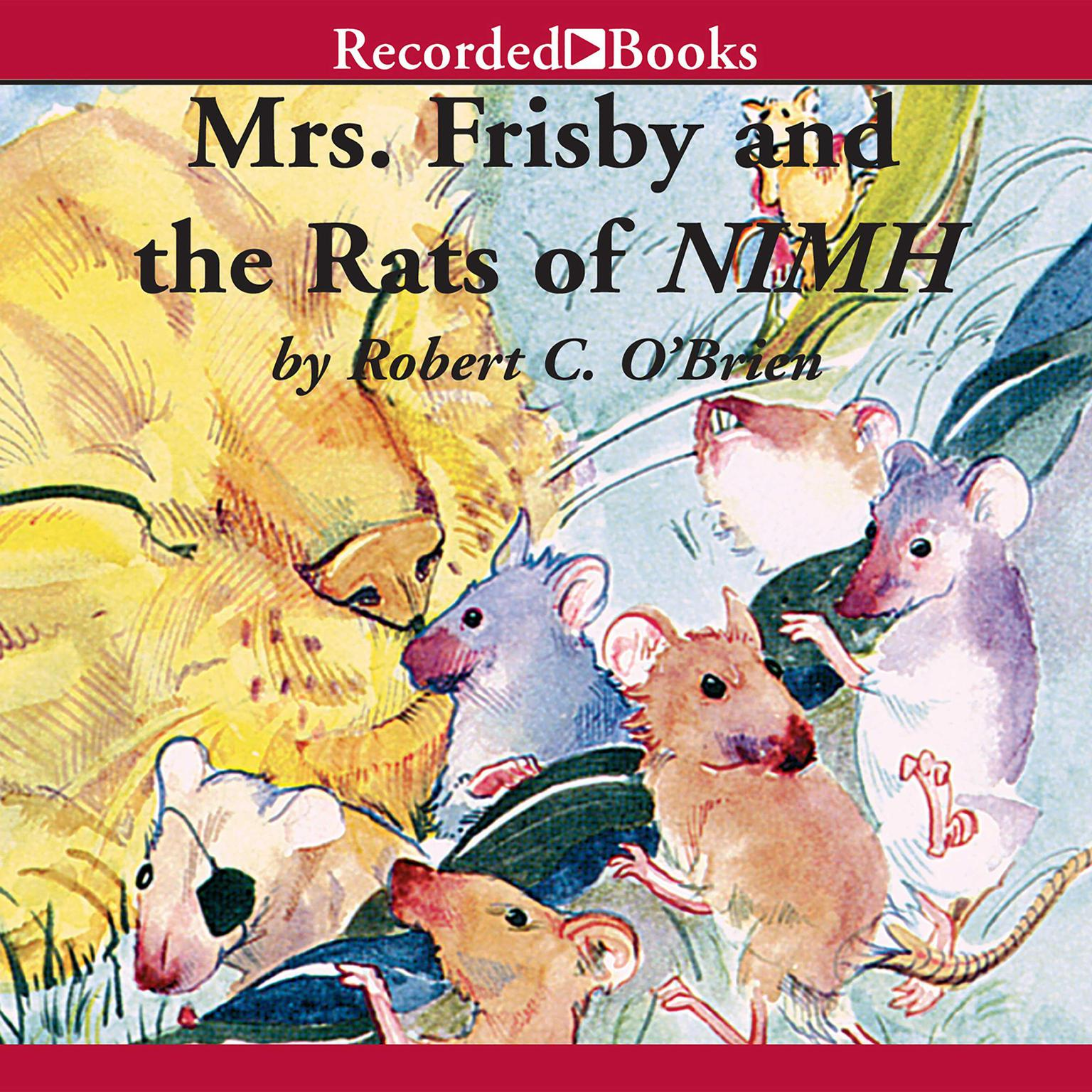 Printable Mrs. Frisby and the Rats of NIMH Audiobook Cover Art