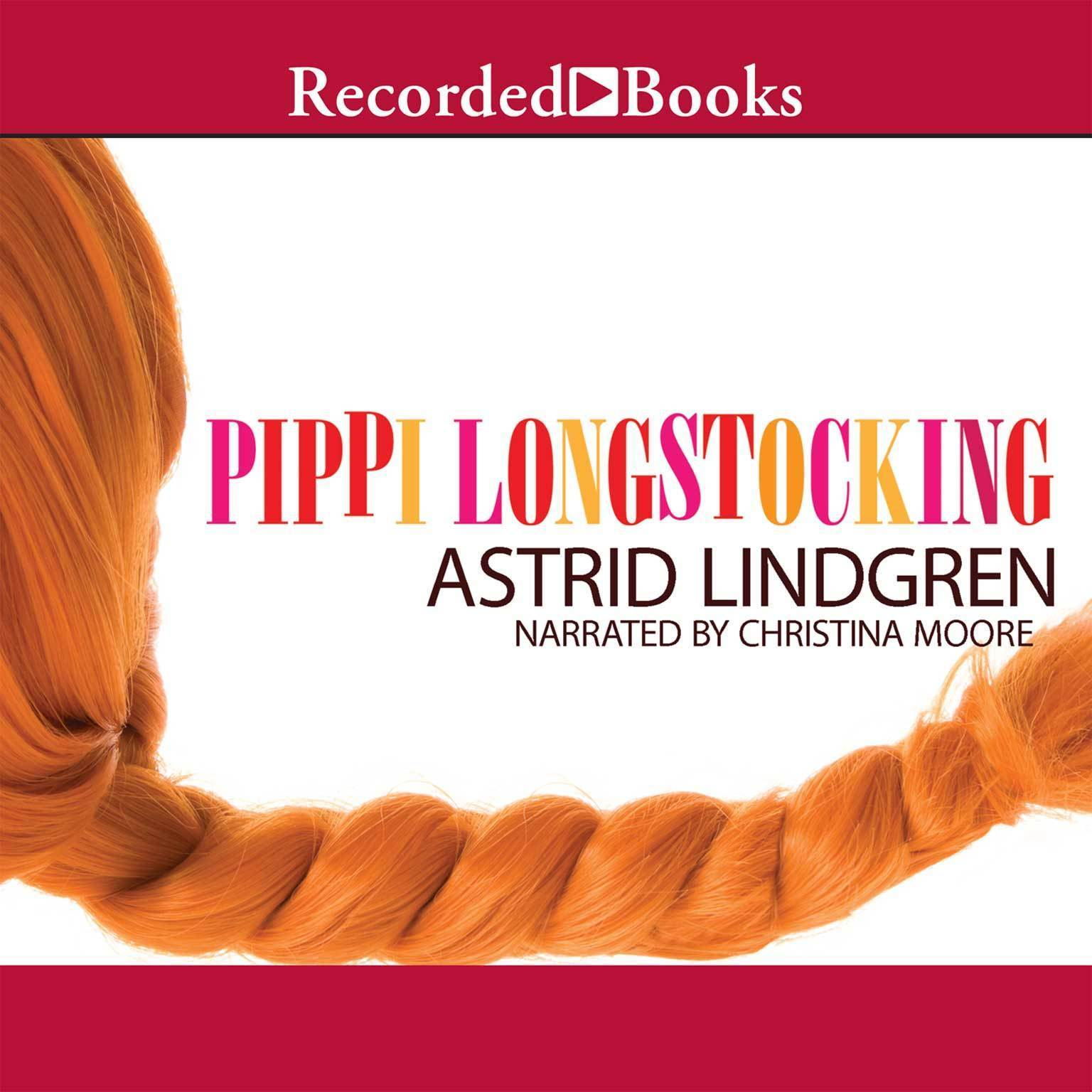 Printable Pippi Longstocking Audiobook Cover Art