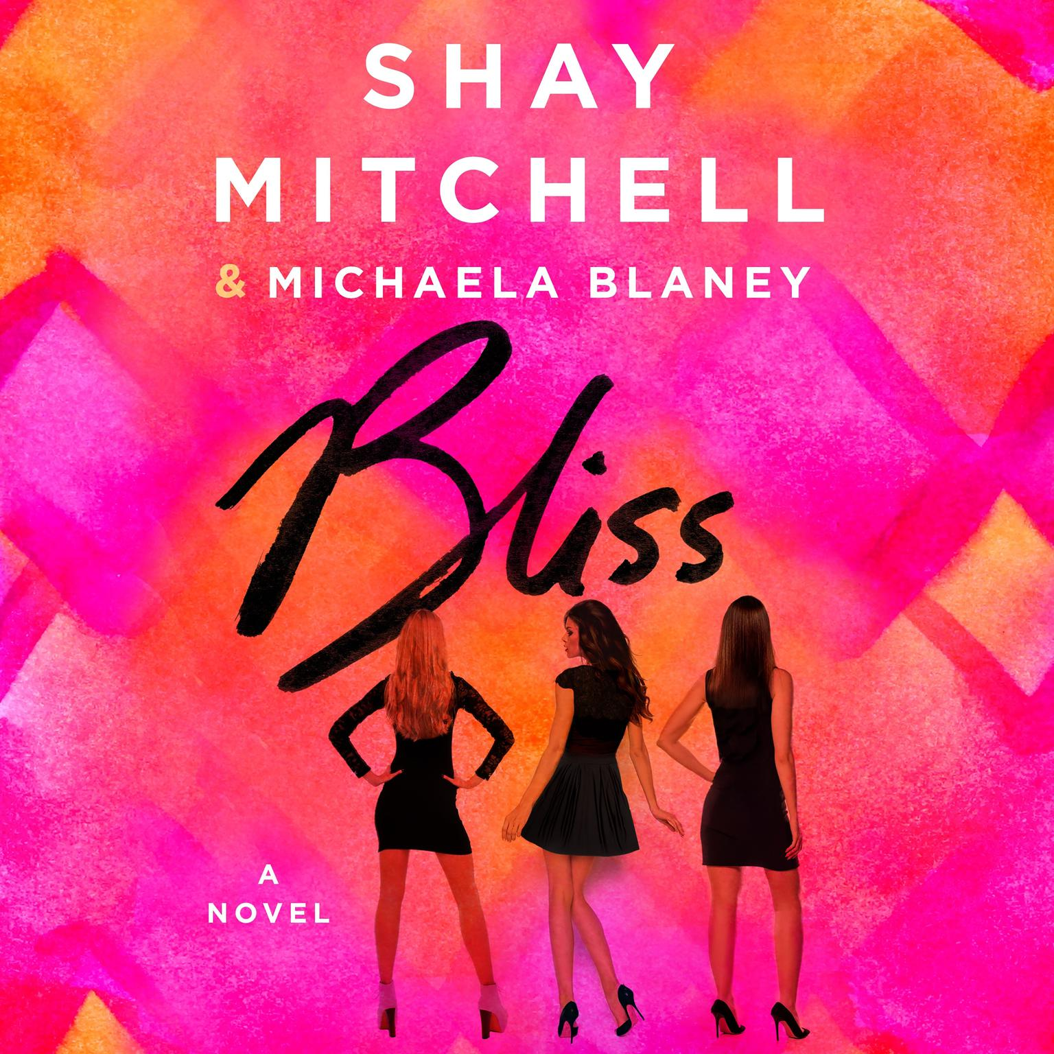 Printable Bliss: A Novel Audiobook Cover Art