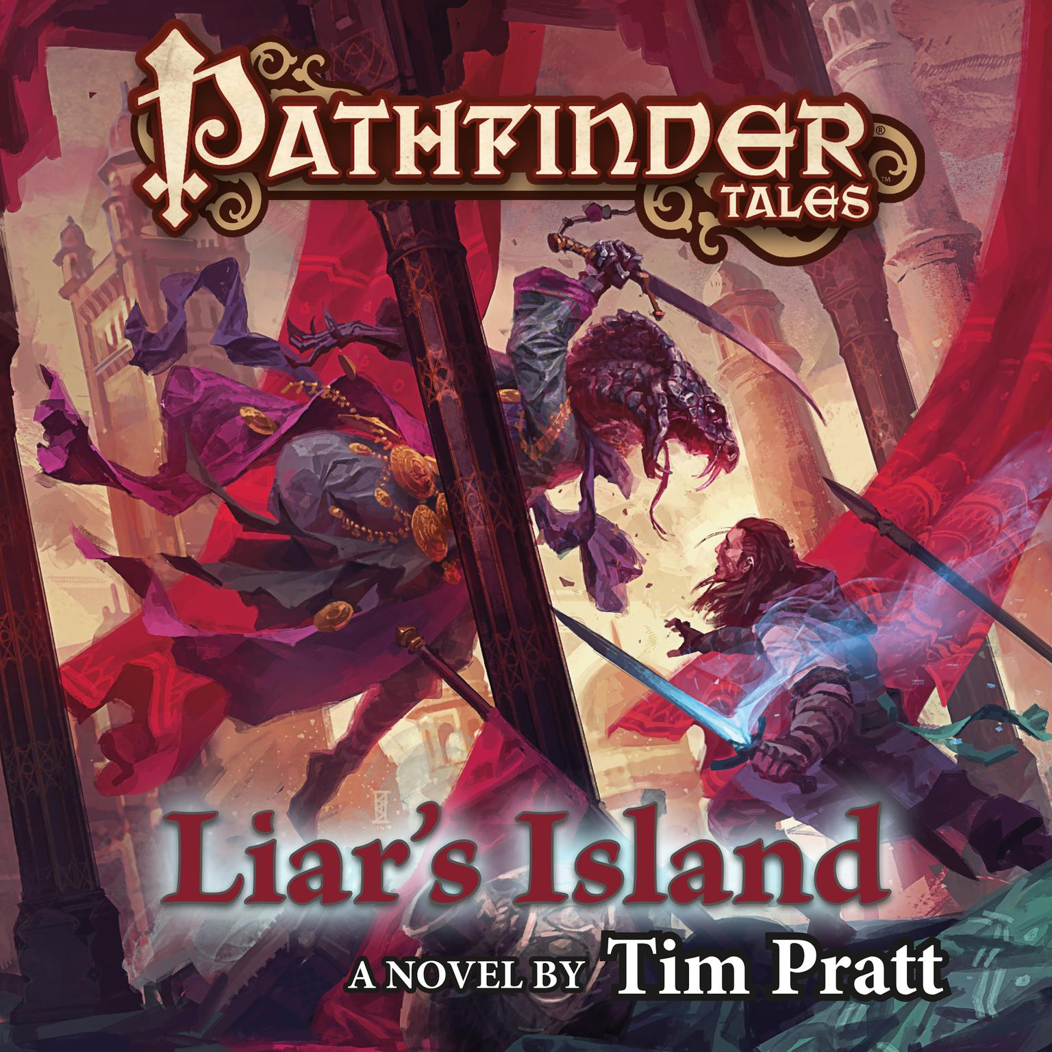 Printable Pathfinder Tales: Liar's Island: A Novel Audiobook Cover Art