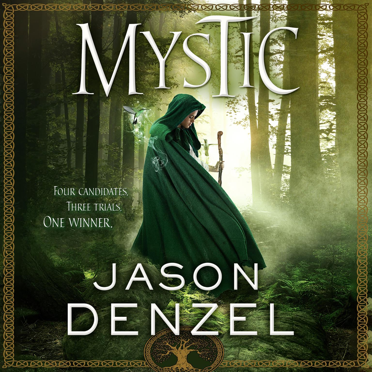 Printable Mystic: A Novel Audiobook Cover Art