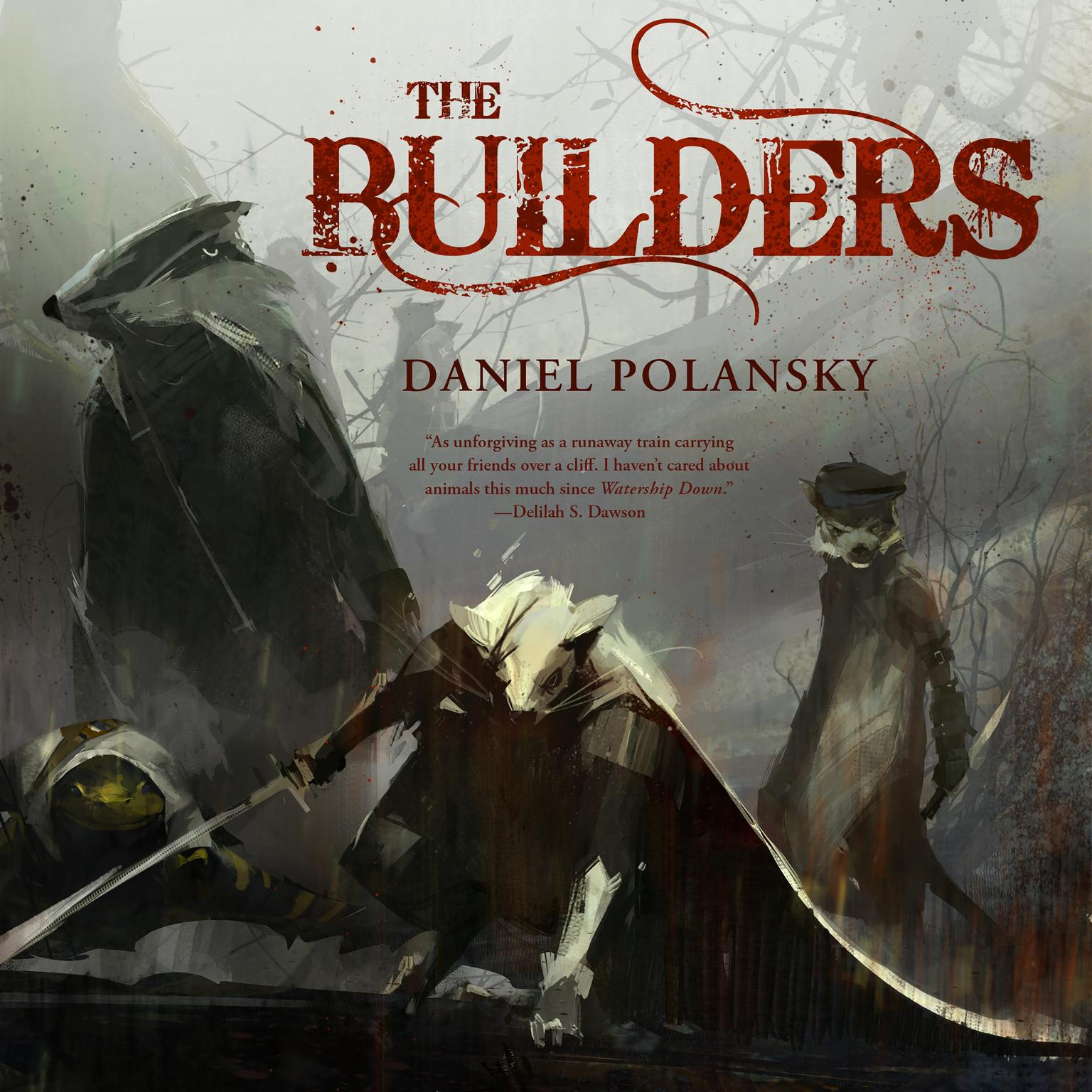 Printable The Builders Audiobook Cover Art