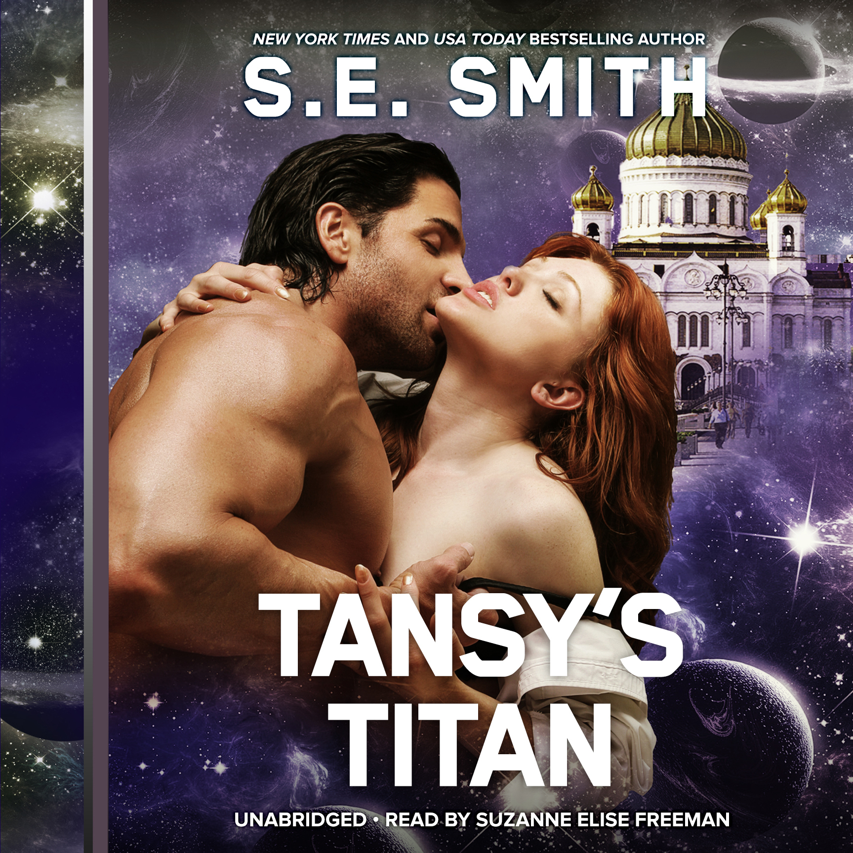 Printable Tansy's Titan Audiobook Cover Art