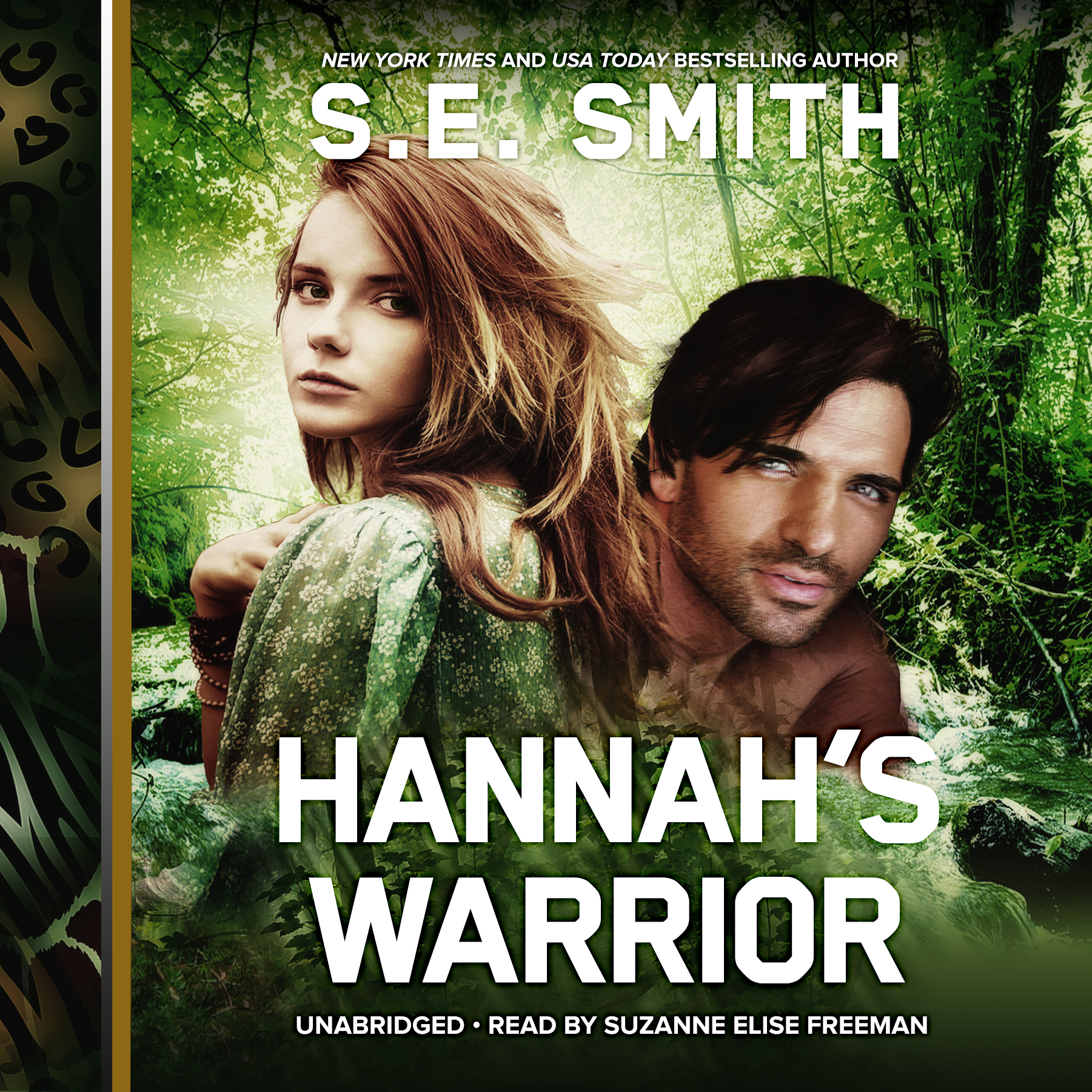 Printable Hannah's Warrior Audiobook Cover Art