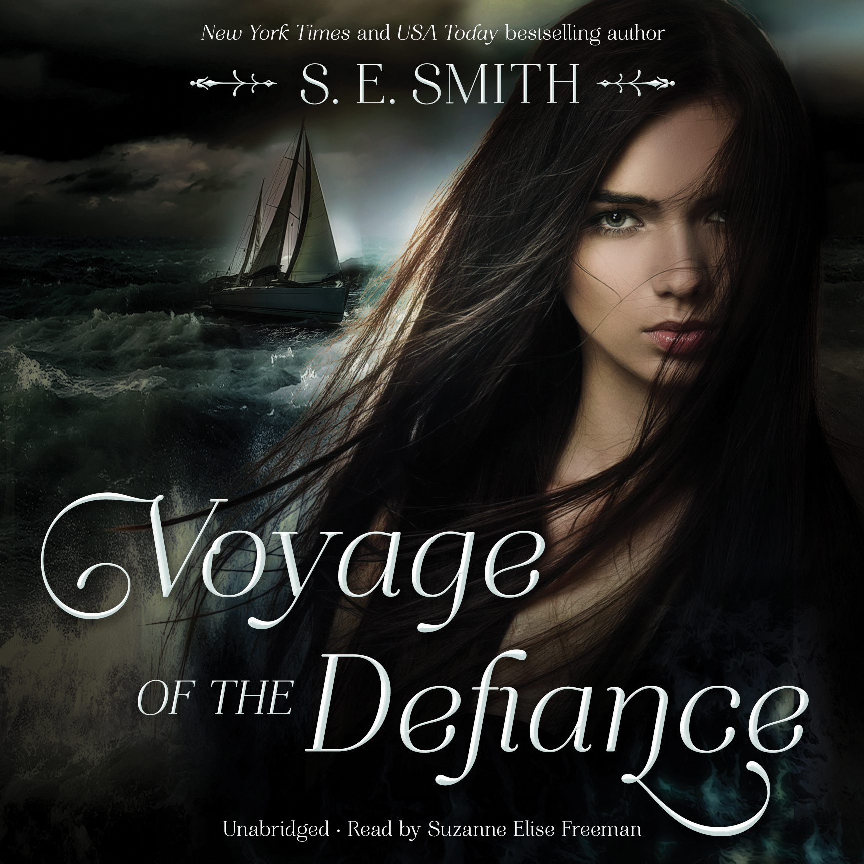 Printable Voyage of the Defiance Audiobook Cover Art