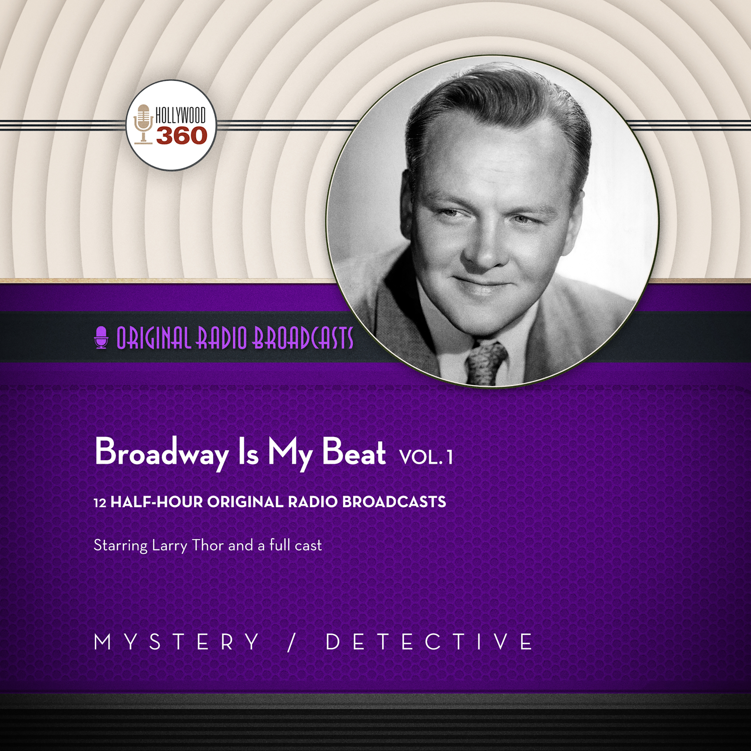 Printable Broadway Is My Beat, Vol. 1 Audiobook Cover Art