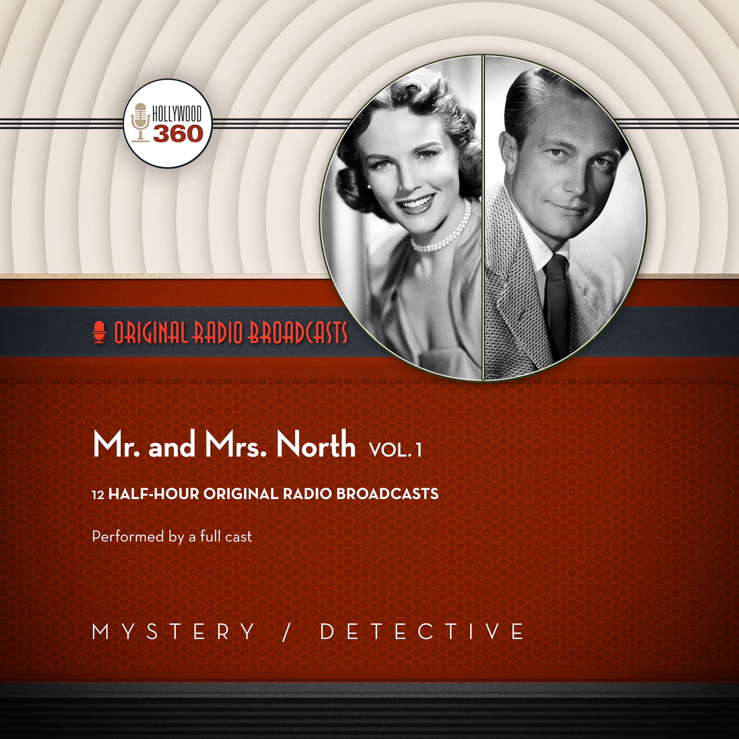 Printable Mr. & Mrs. North, Vol. 1  Audiobook Cover Art