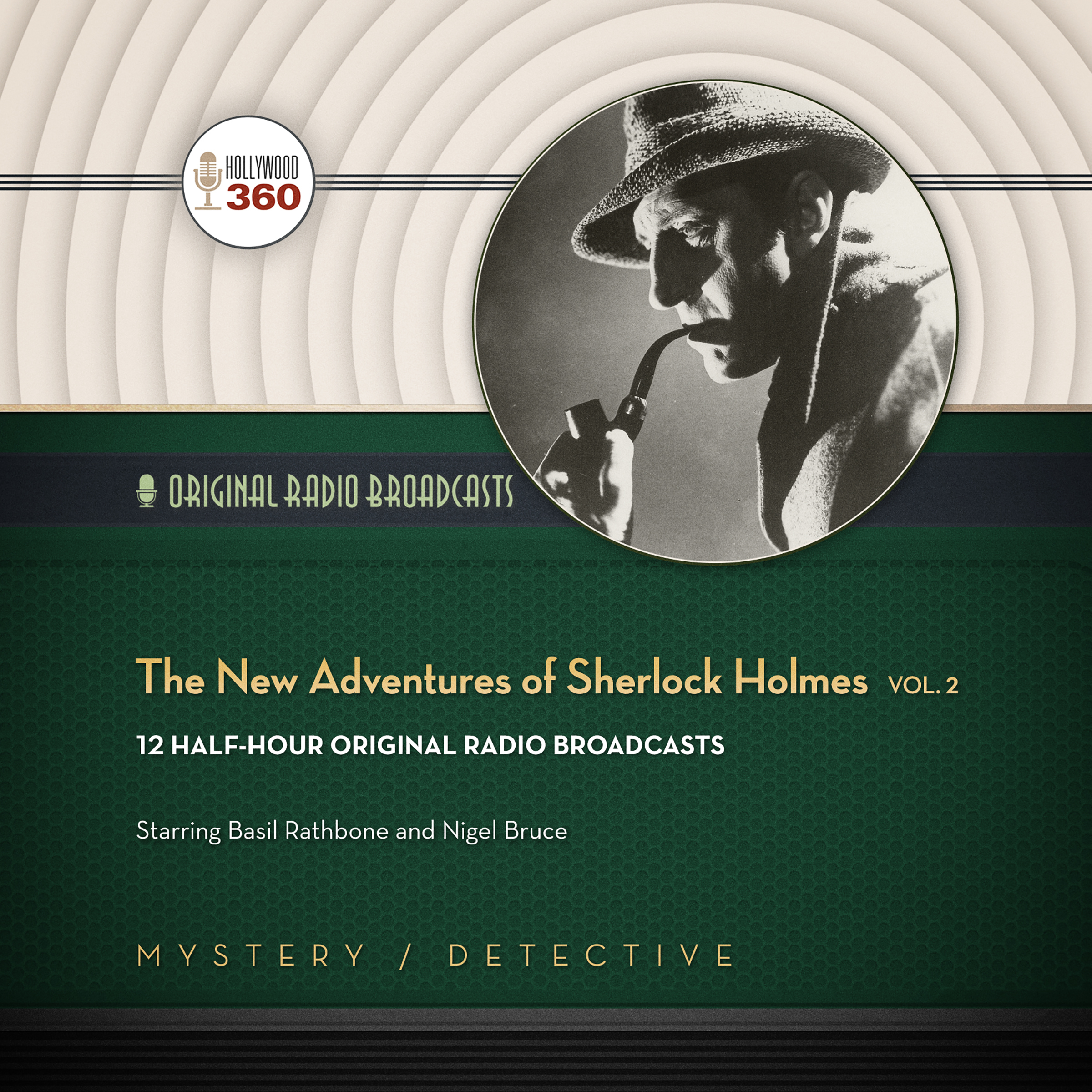 Printable The New Adventures of Sherlock Holmes, Vol. 2 Audiobook Cover Art
