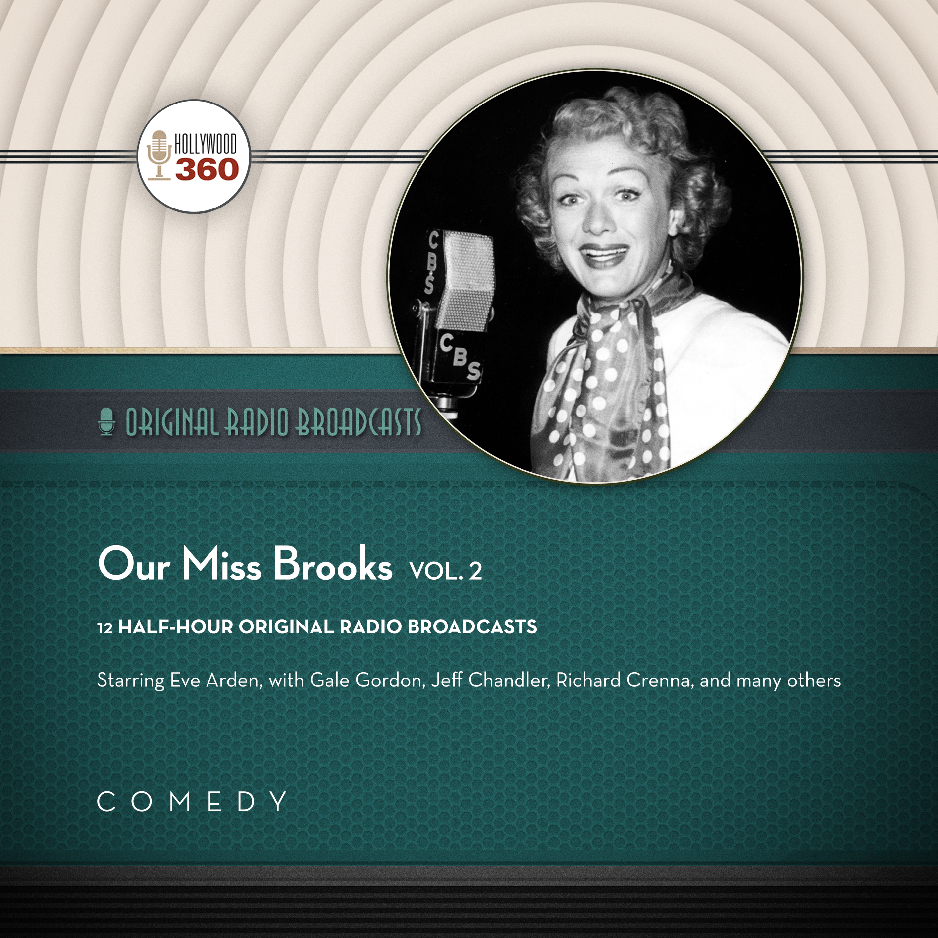 Printable Our Miss Brooks, Vol. 2  Audiobook Cover Art