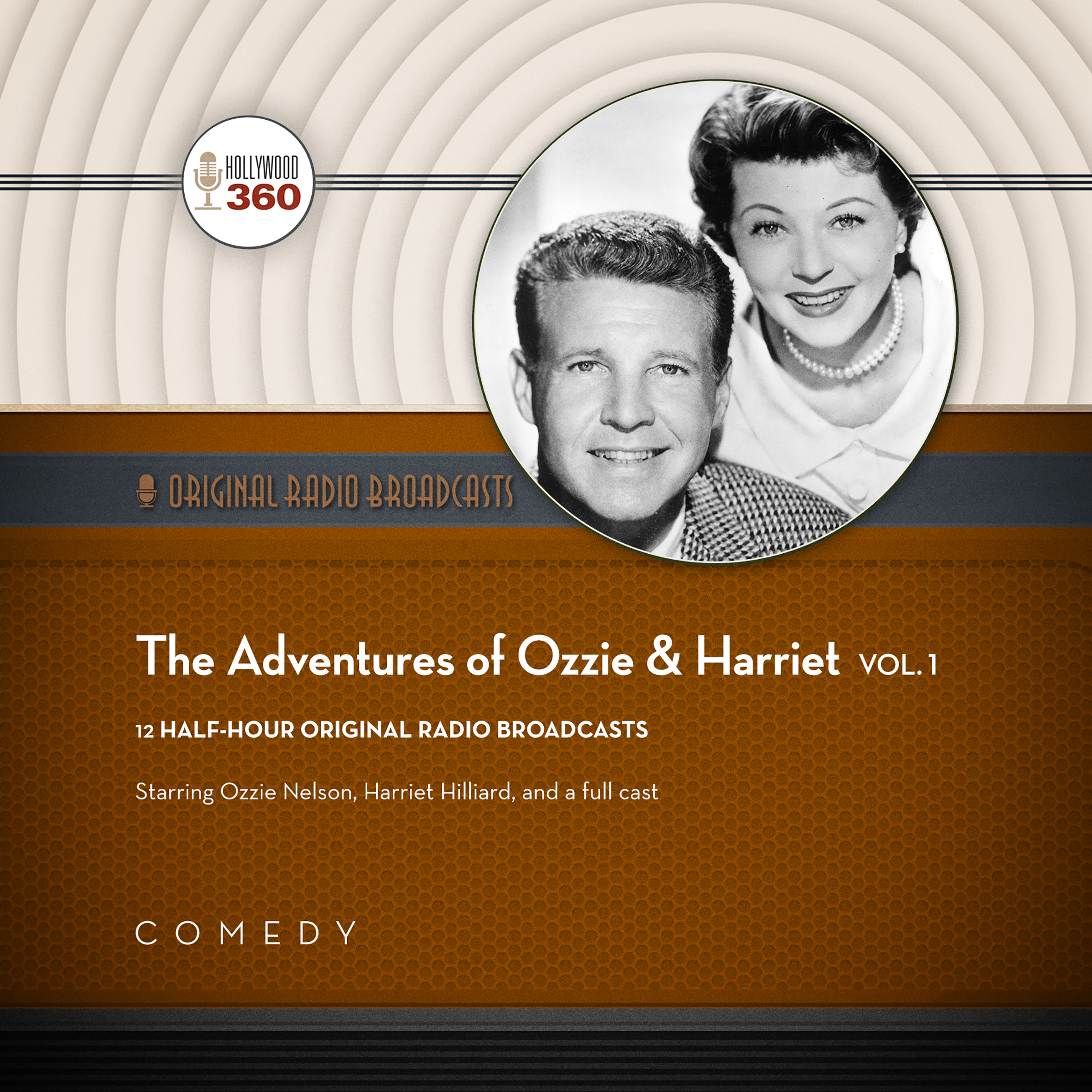 Printable The Adventures of Ozzie & Harriet, Vol. 1 Audiobook Cover Art