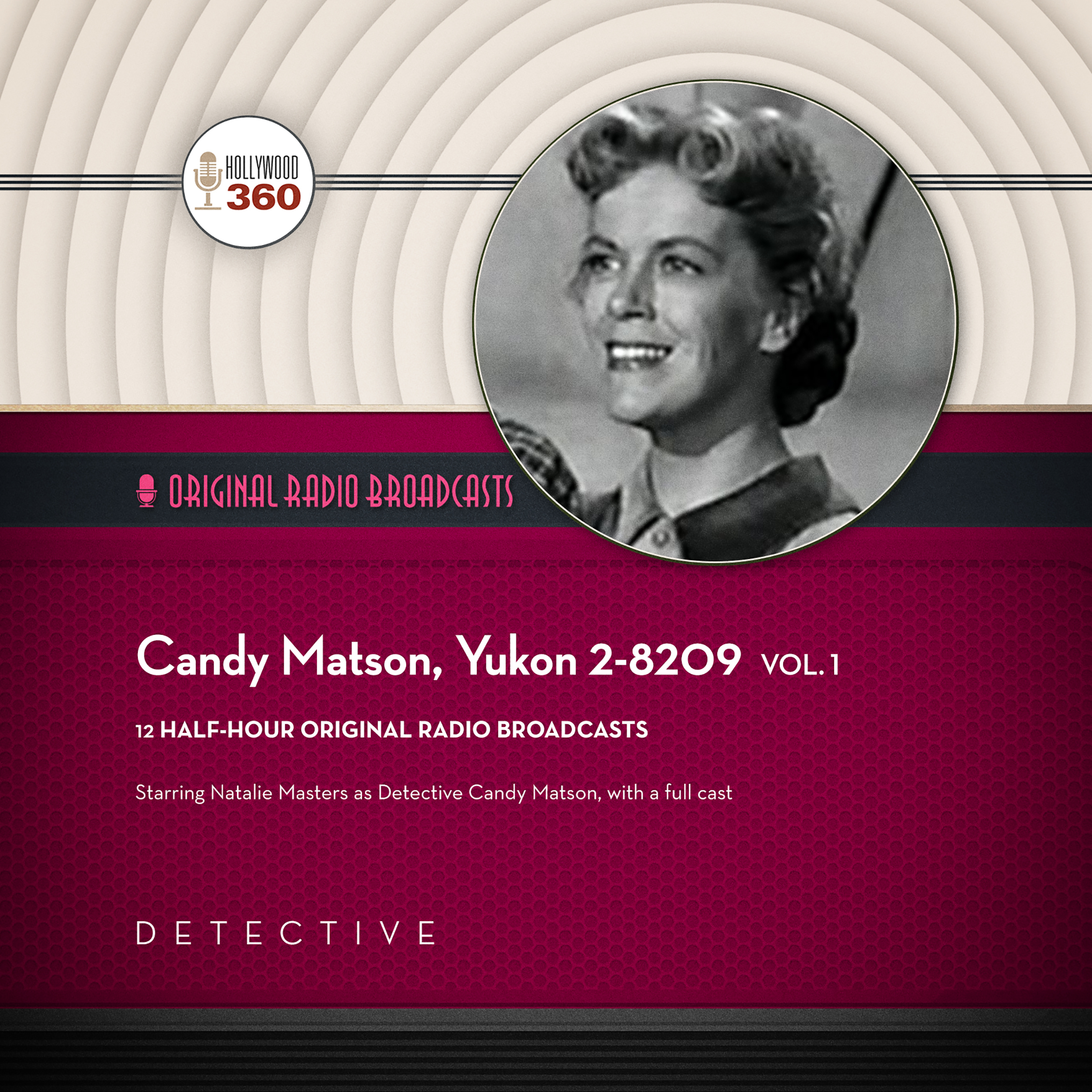 Printable Candy Matson, Yukon 2-8209, Vol. 1 Audiobook Cover Art