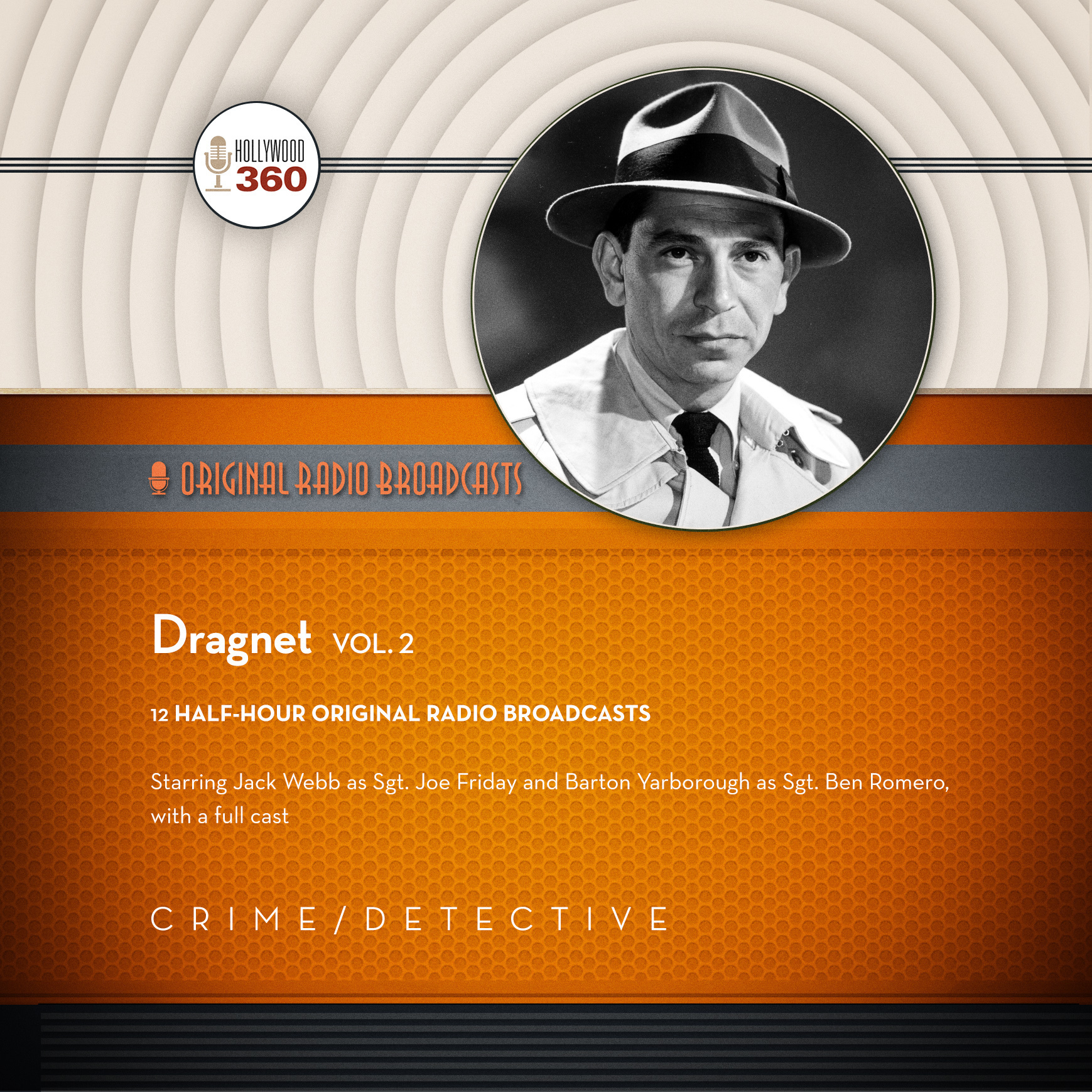 Printable Dragnet, Vol. 2  Audiobook Cover Art
