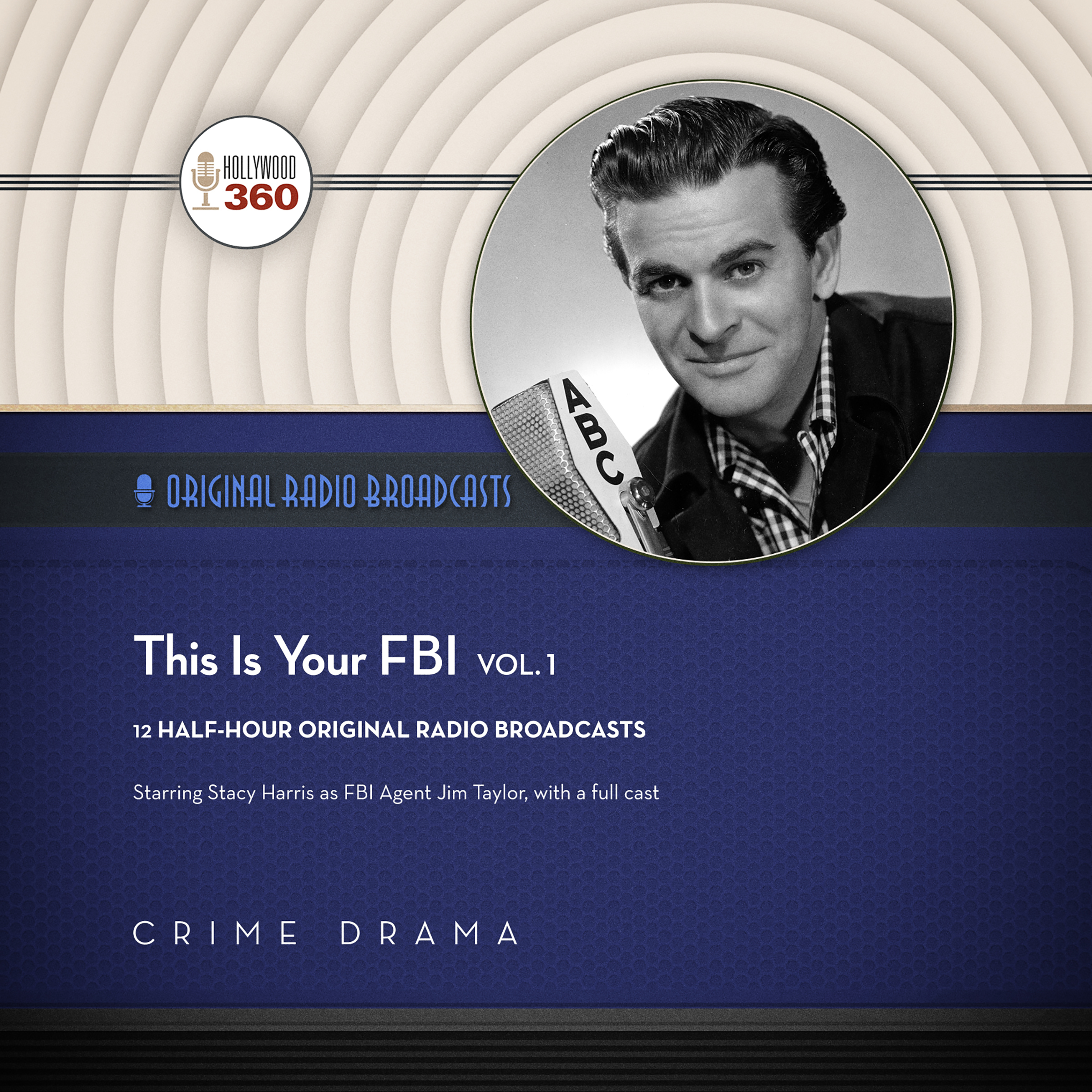 Printable This Is Your FBI, Vol. 1  Audiobook Cover Art