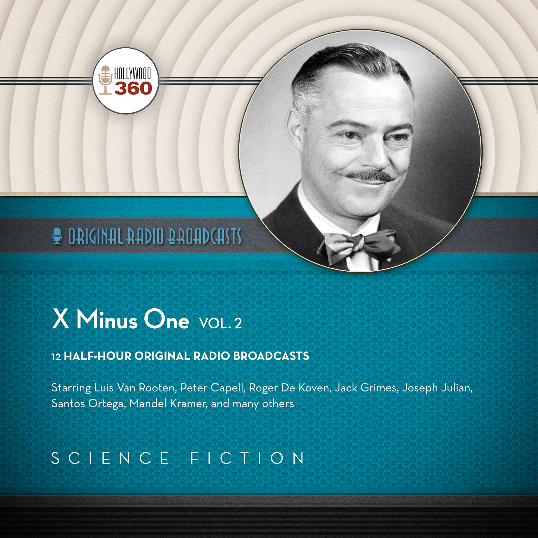 Printable X minus One, Vol. 2 Audiobook Cover Art