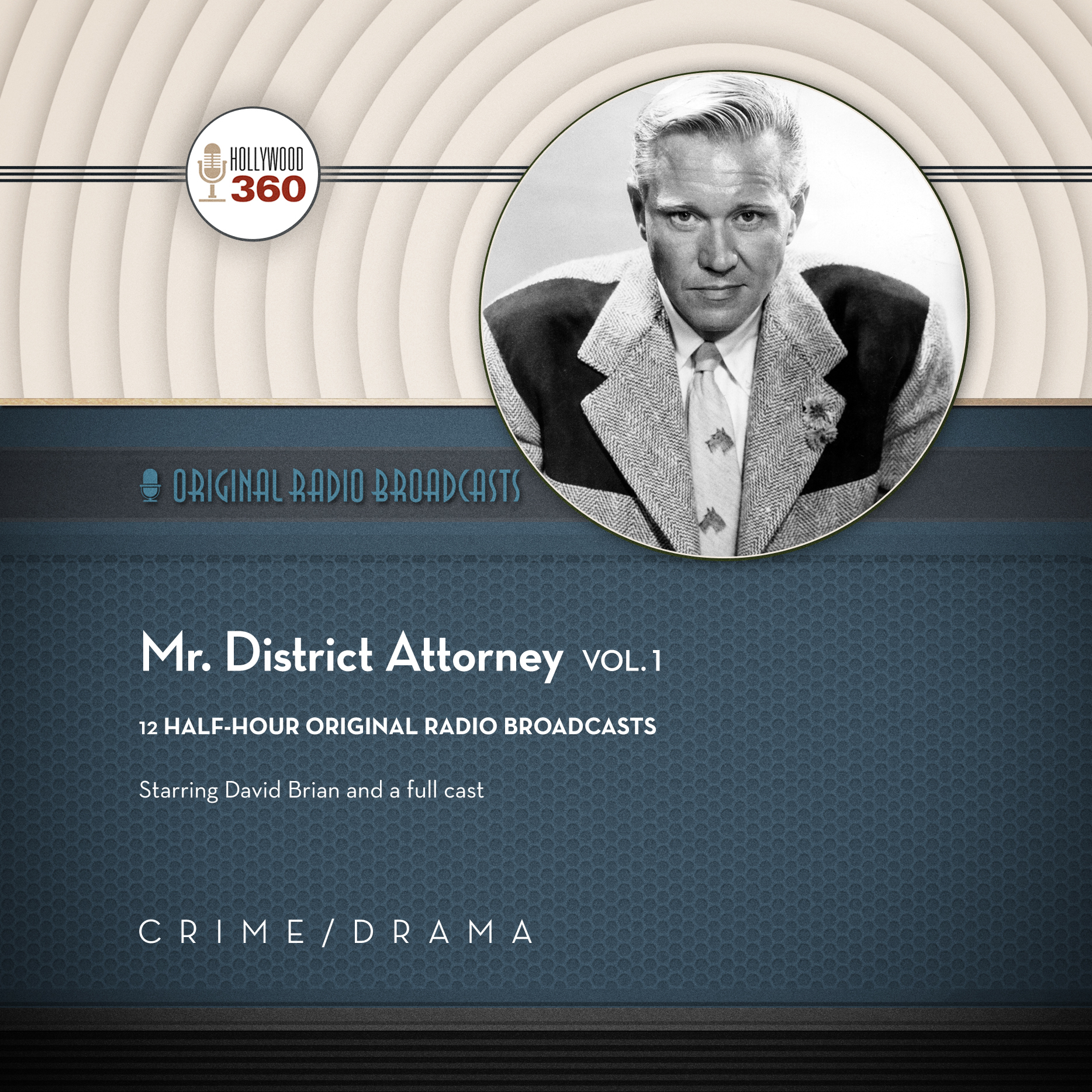 Printable Mr. District Attorney, Vol. 1 Audiobook Cover Art