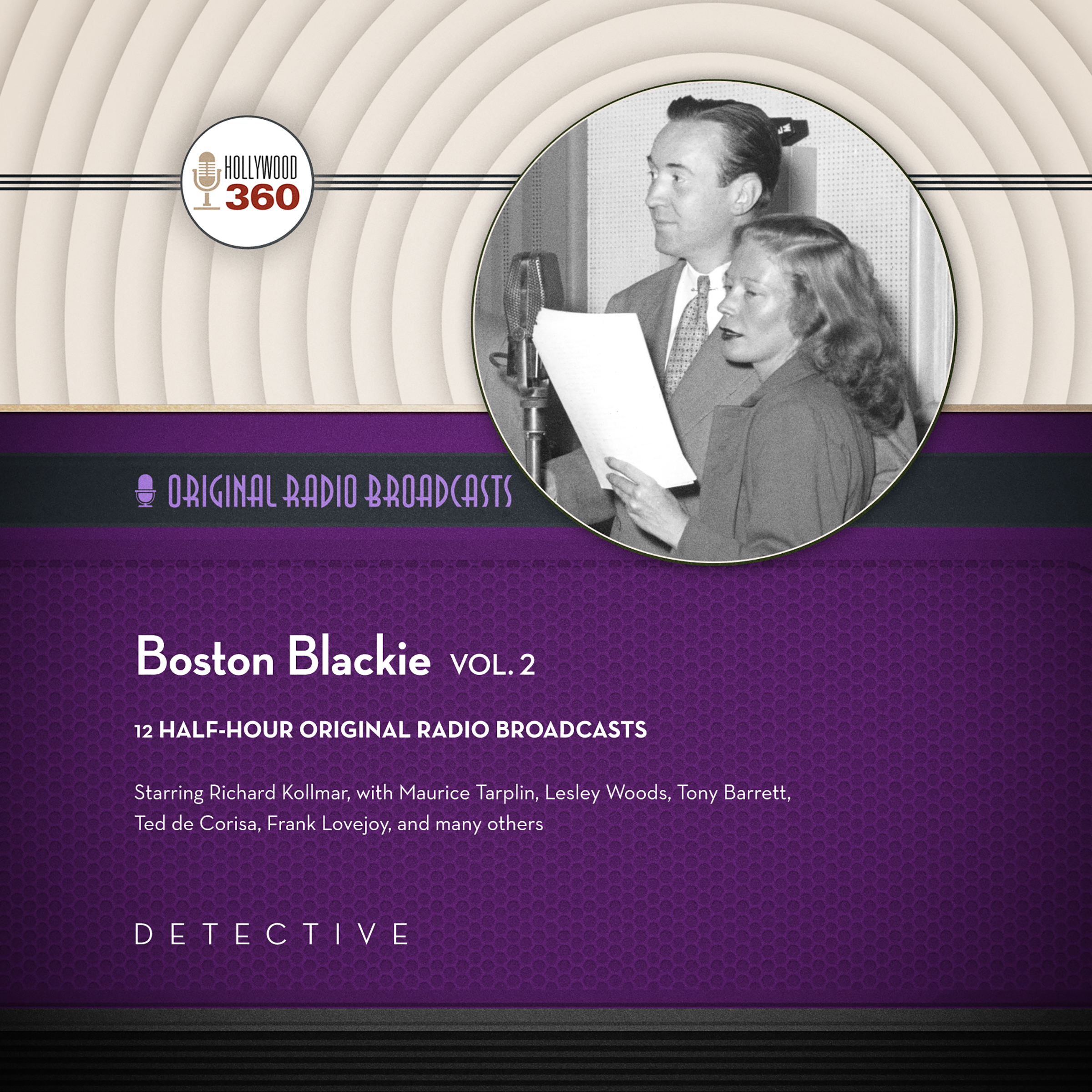 Printable Boston Blackie, Vol. 2 Audiobook Cover Art
