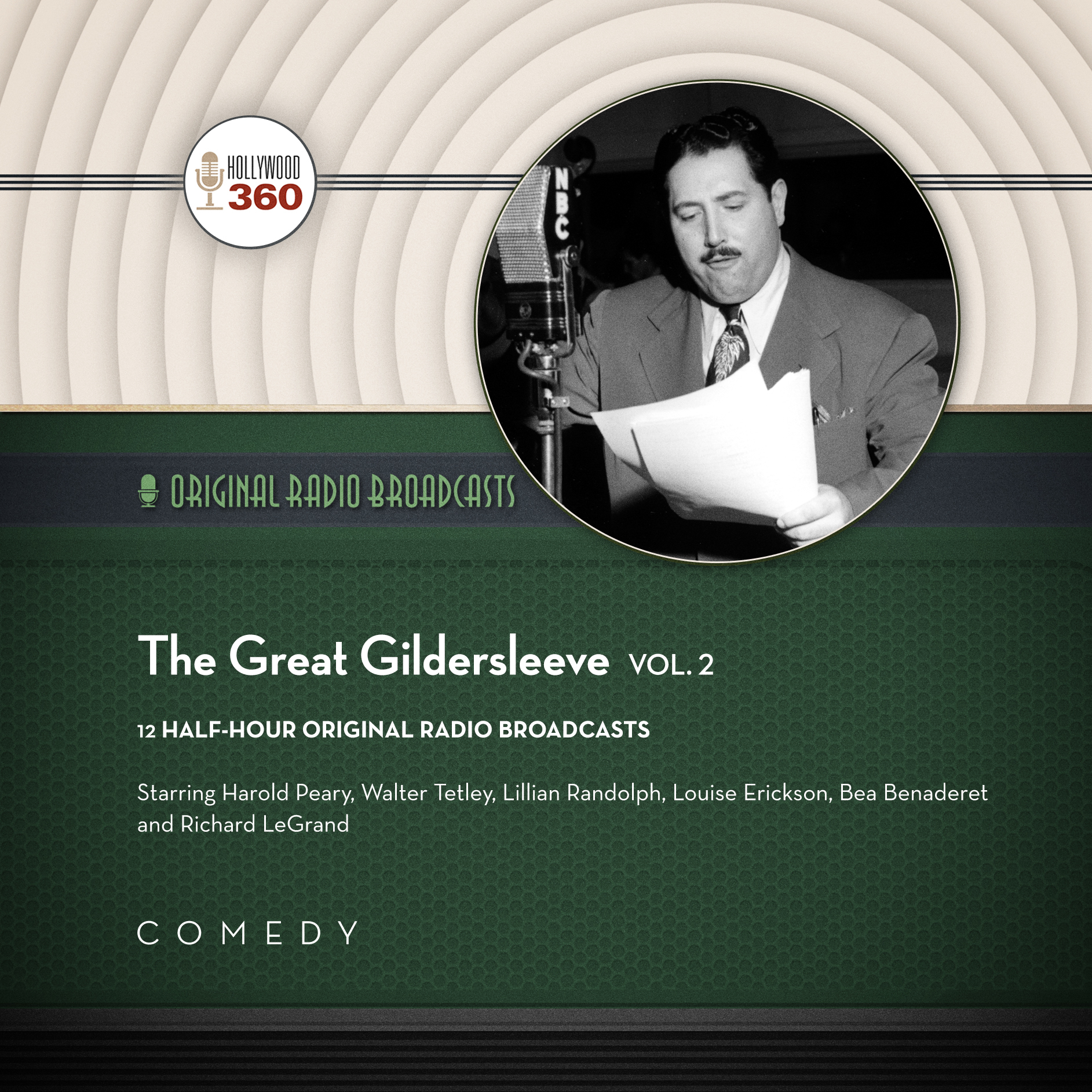 Printable The Great Gildersleeve, Vol. 2 Audiobook Cover Art