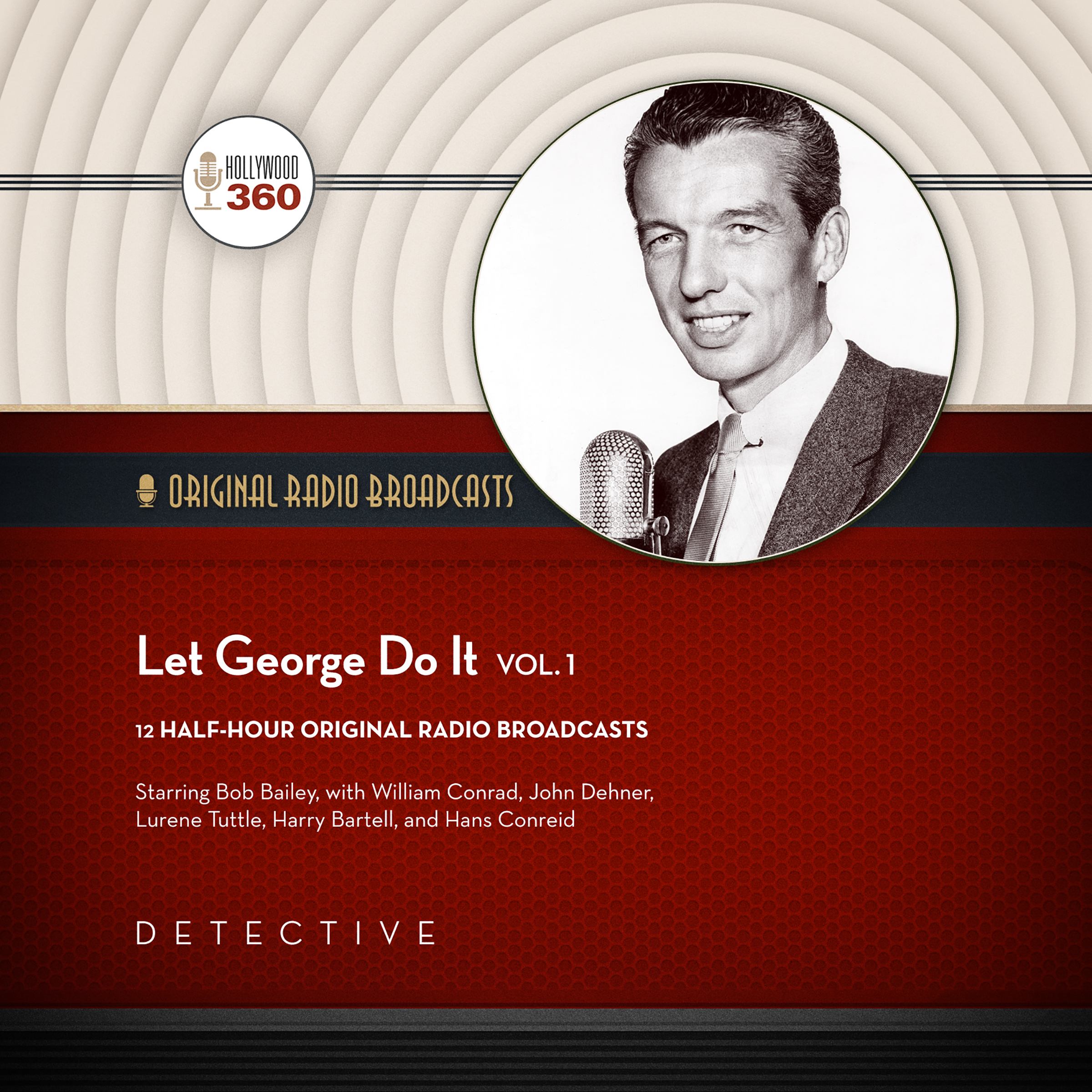 Printable Let George Do It, Vol. 1 Audiobook Cover Art