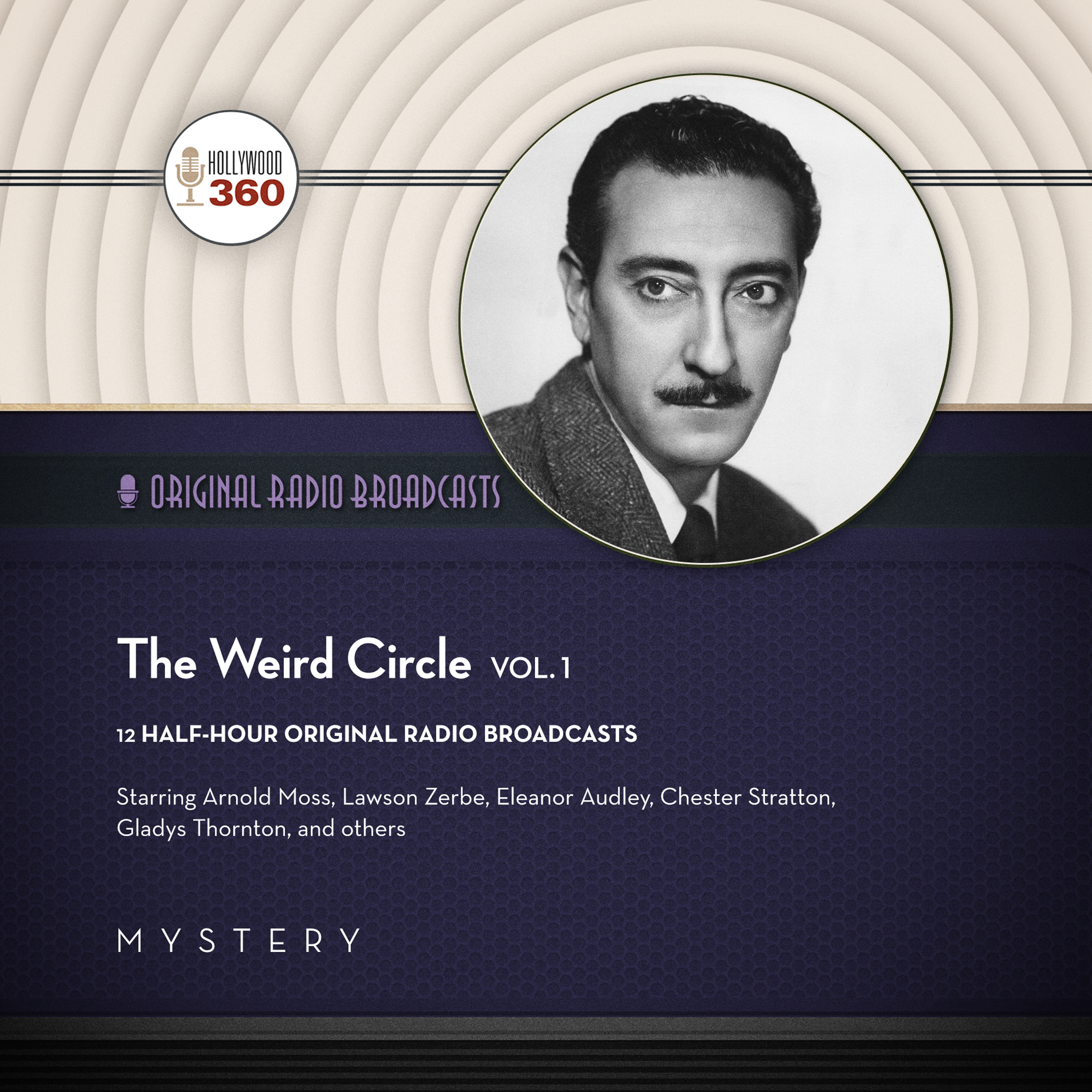 Printable The Weird Circle, Vol. 1 Audiobook Cover Art
