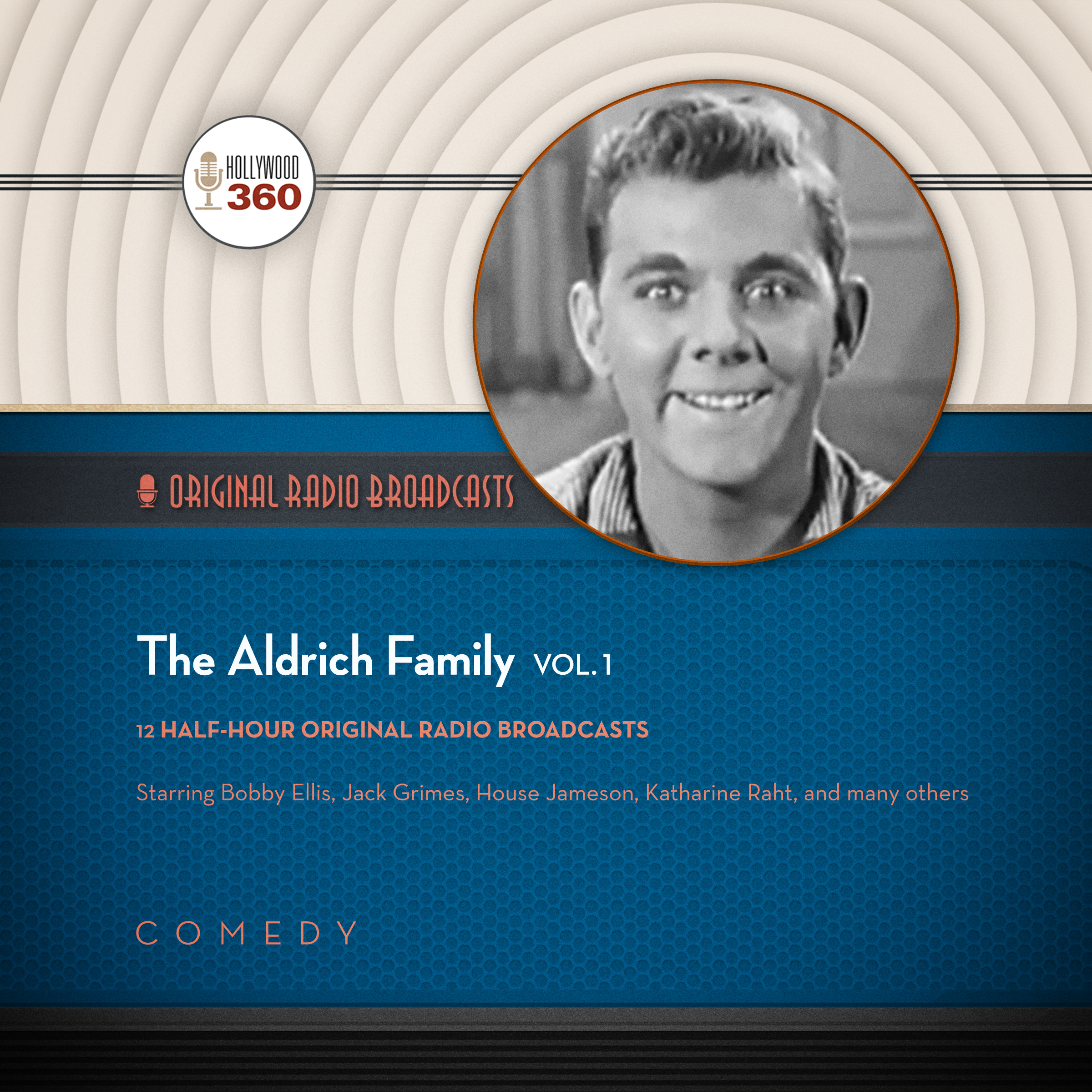 Printable The Aldrich Family, Vol. 1 Audiobook Cover Art