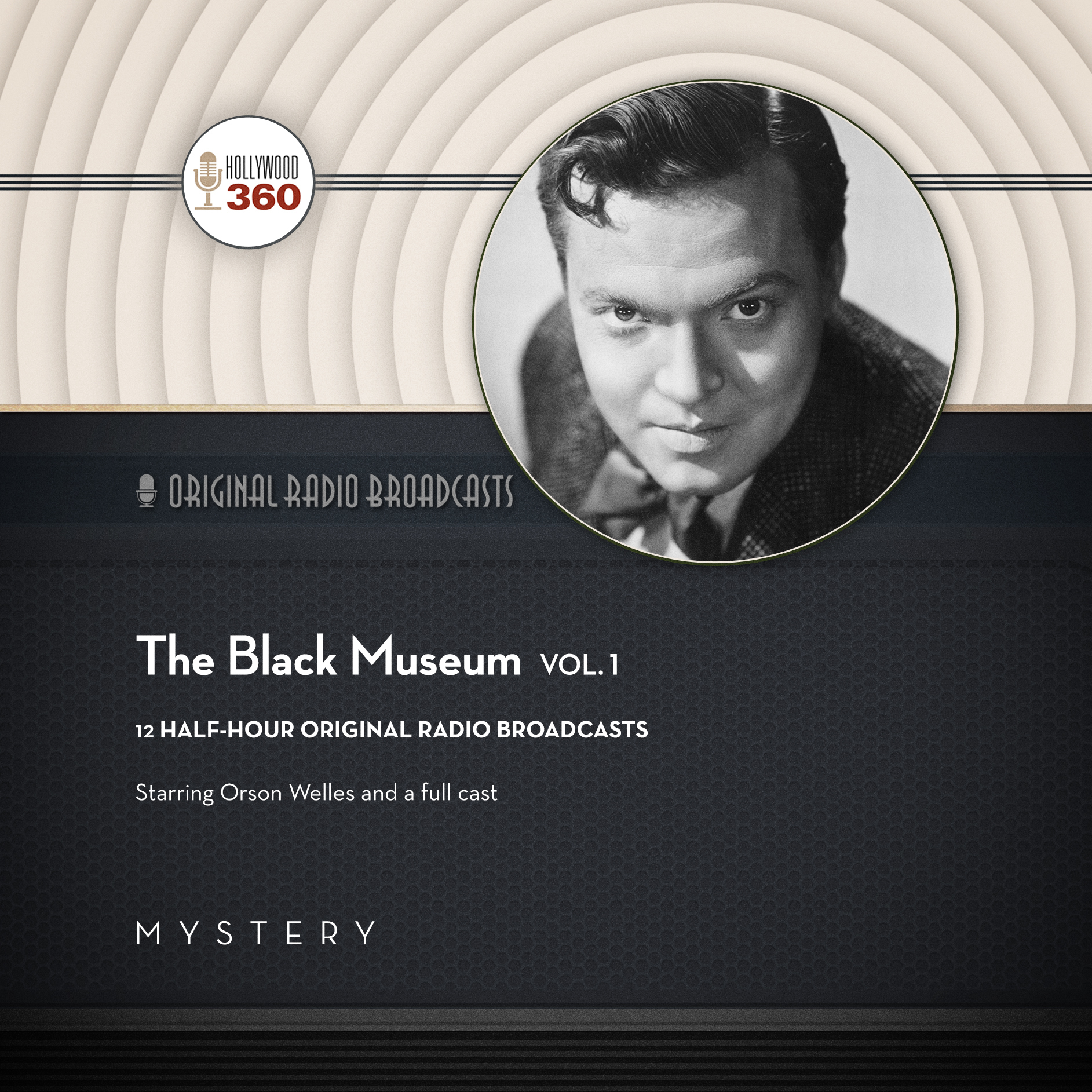 Printable The Black Museum, Vol. 1 Audiobook Cover Art