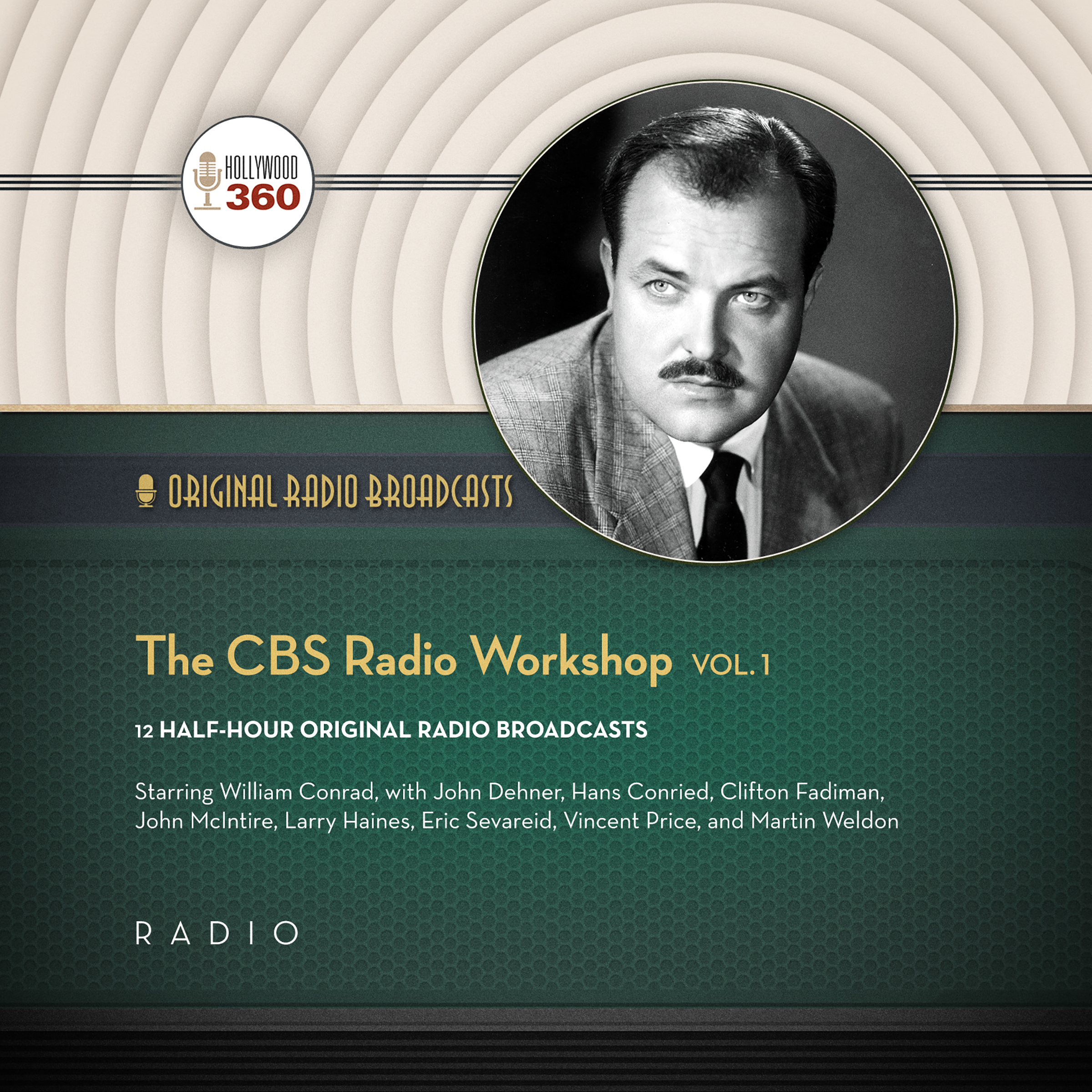 Printable The CBS Radio Workshop, Vol. 1 Audiobook Cover Art