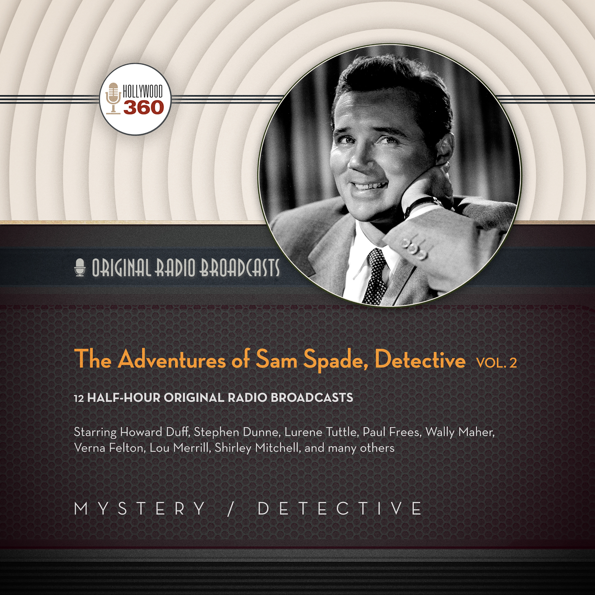 Printable The Adventures of Sam Spade, Detective, Vol. 2  Audiobook Cover Art