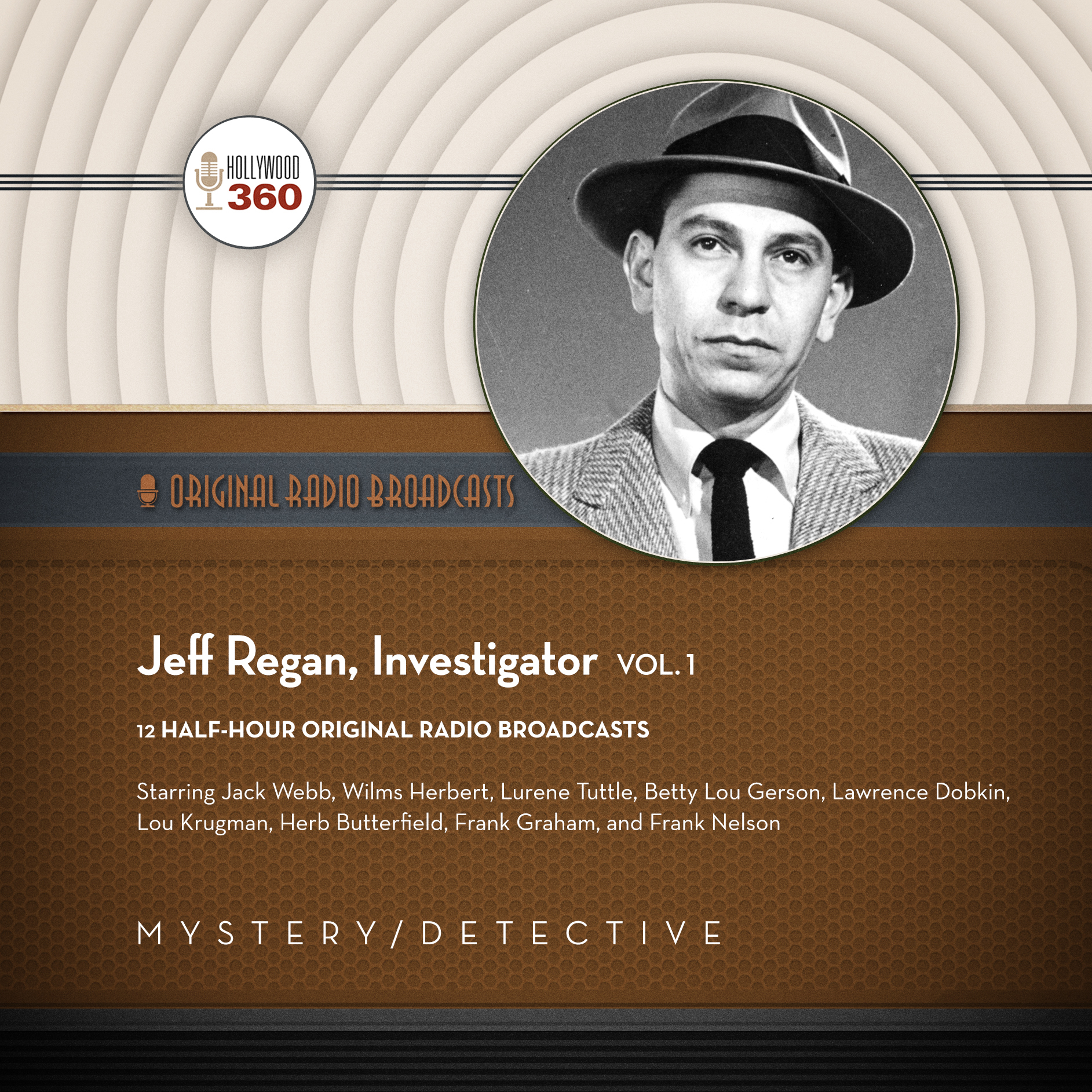 Printable Jeff Regan, Investigator, Vol. 1 Audiobook Cover Art