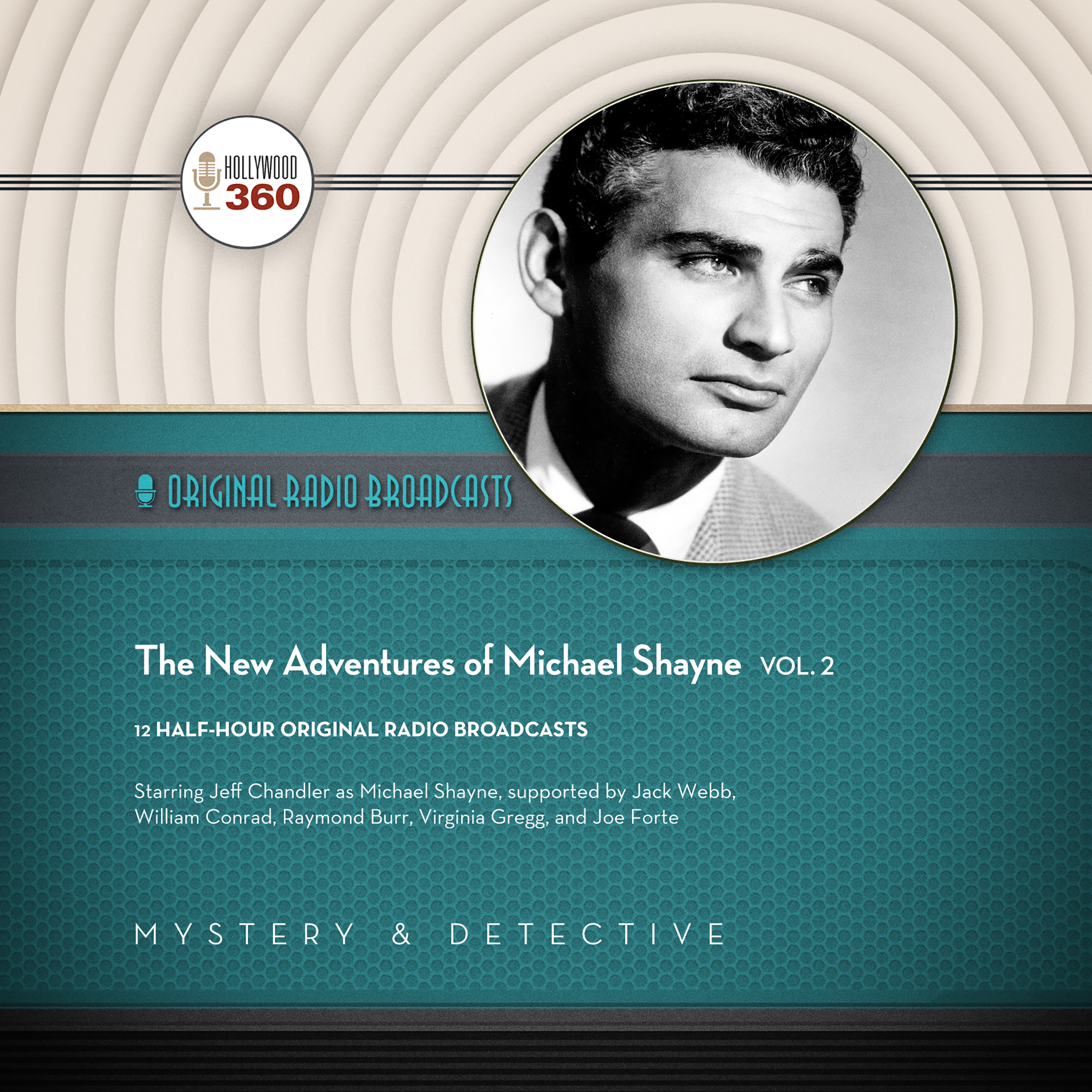 Printable The New Adventures of Michael Shayne, Vol. 2 Audiobook Cover Art