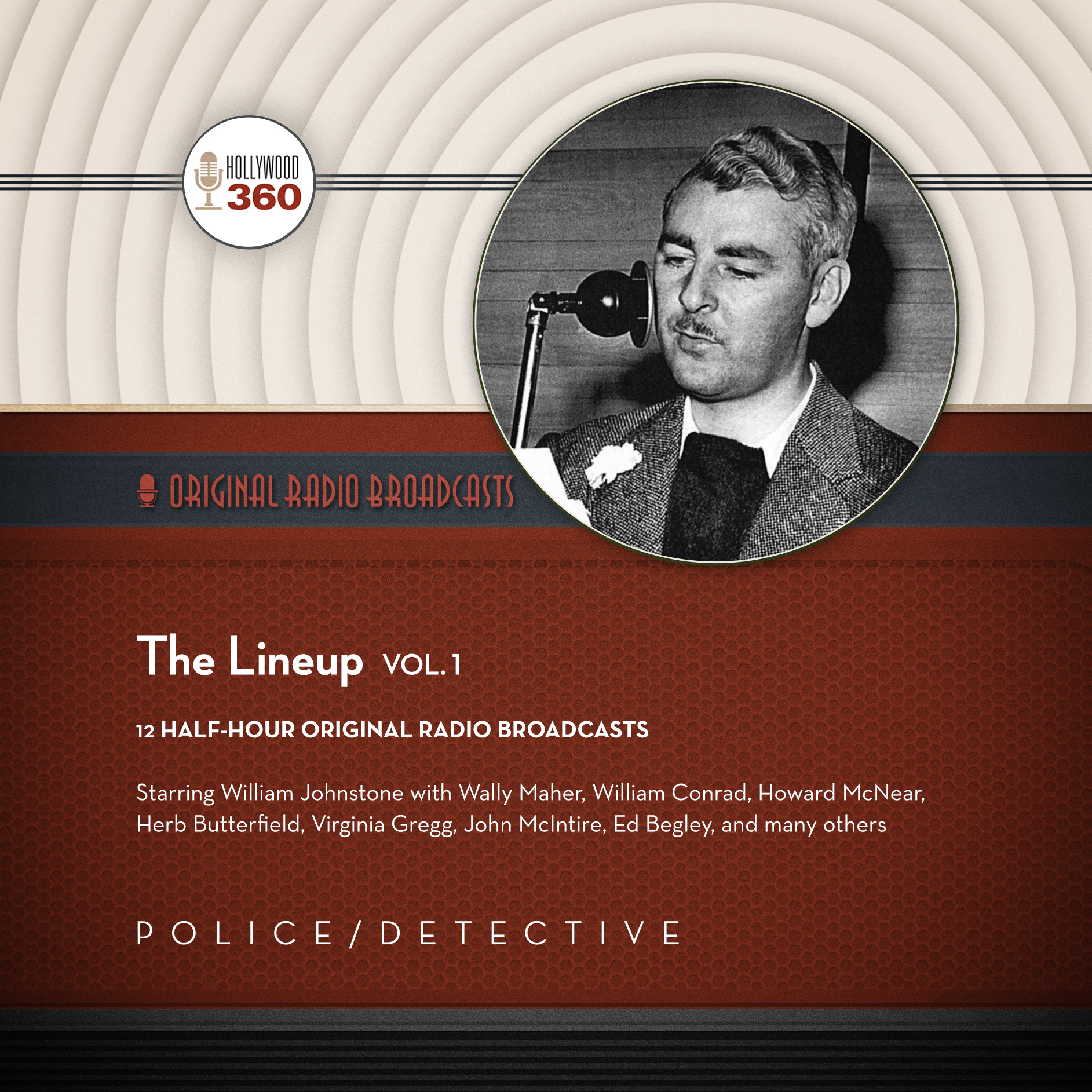 Printable The Lineup, Vol. 1 Audiobook Cover Art